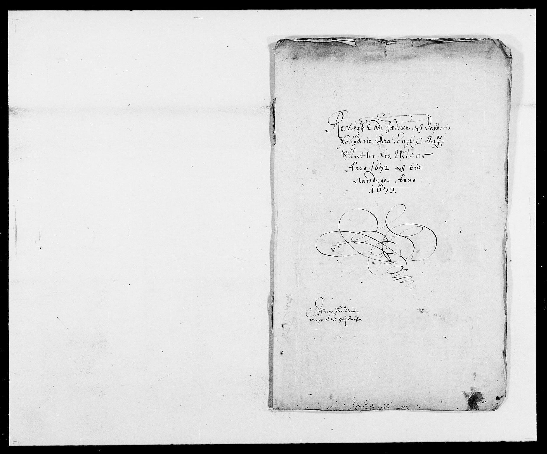 RA, Rentekammeret inntil 1814, Reviderte regnskaper, Fogderegnskap, R46/L2713: Fogderegnskap Jæren og Dalane, 1671-1672, s. 283