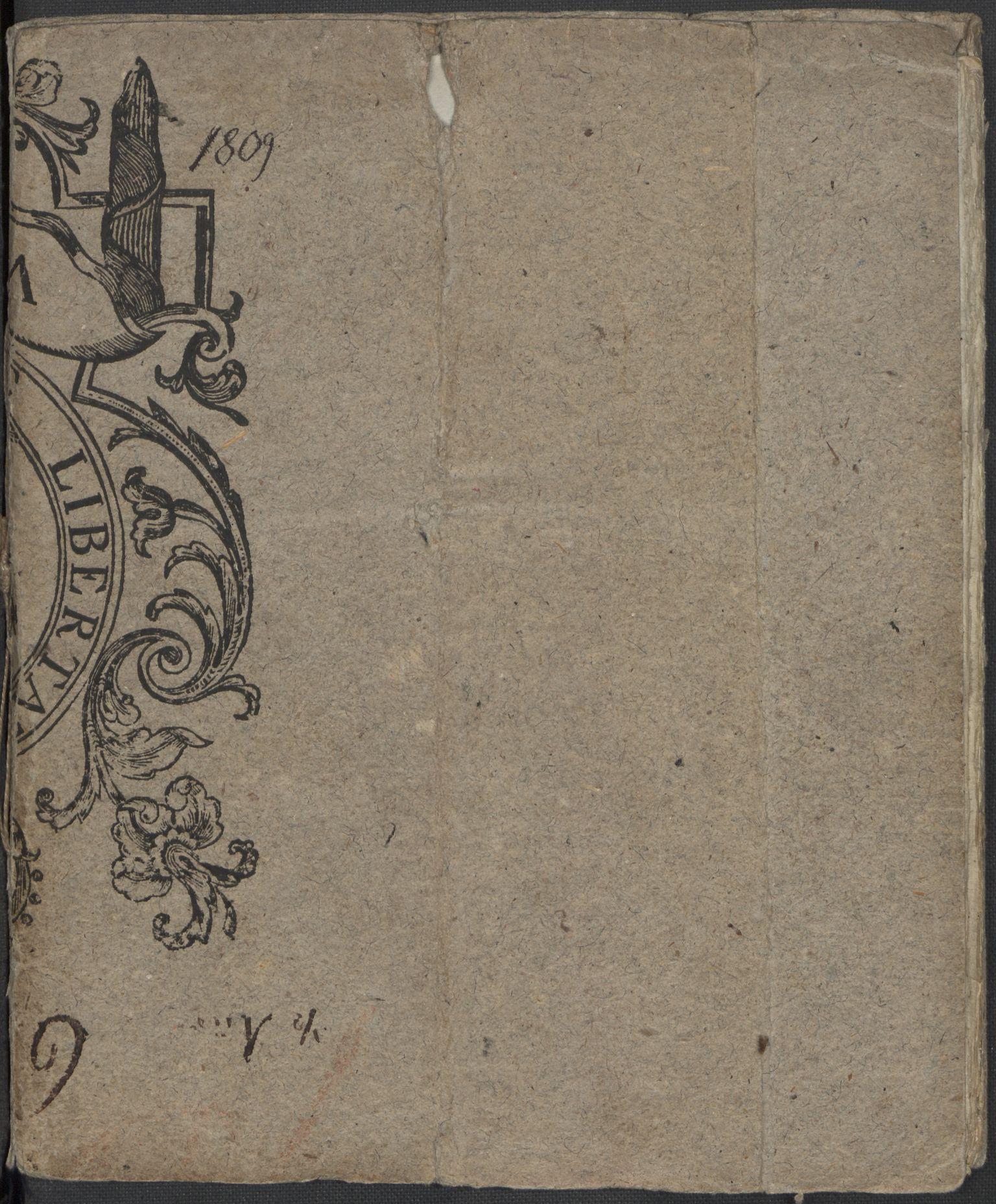RA, Holck, Meidell, Hartvig, F/L0001: (Kassett) Dagbøker ført av Ole Elias v.Holck, 1798-1842, s. 199