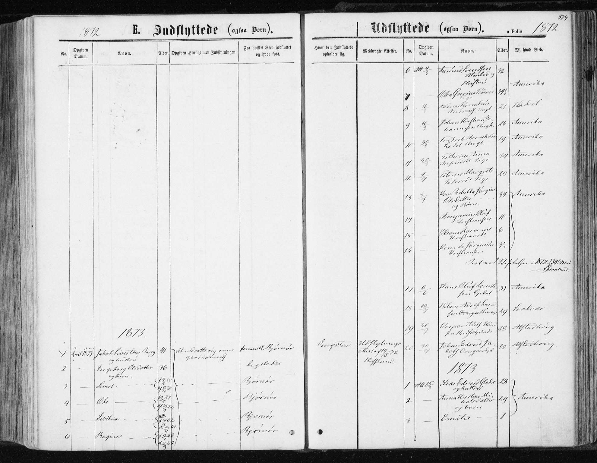 SAT, Ministerialprotokoller, klokkerbøker og fødselsregistre - Nord-Trøndelag, 741/L0394: Ministerialbok nr. 741A08, 1864-1877, s. 374