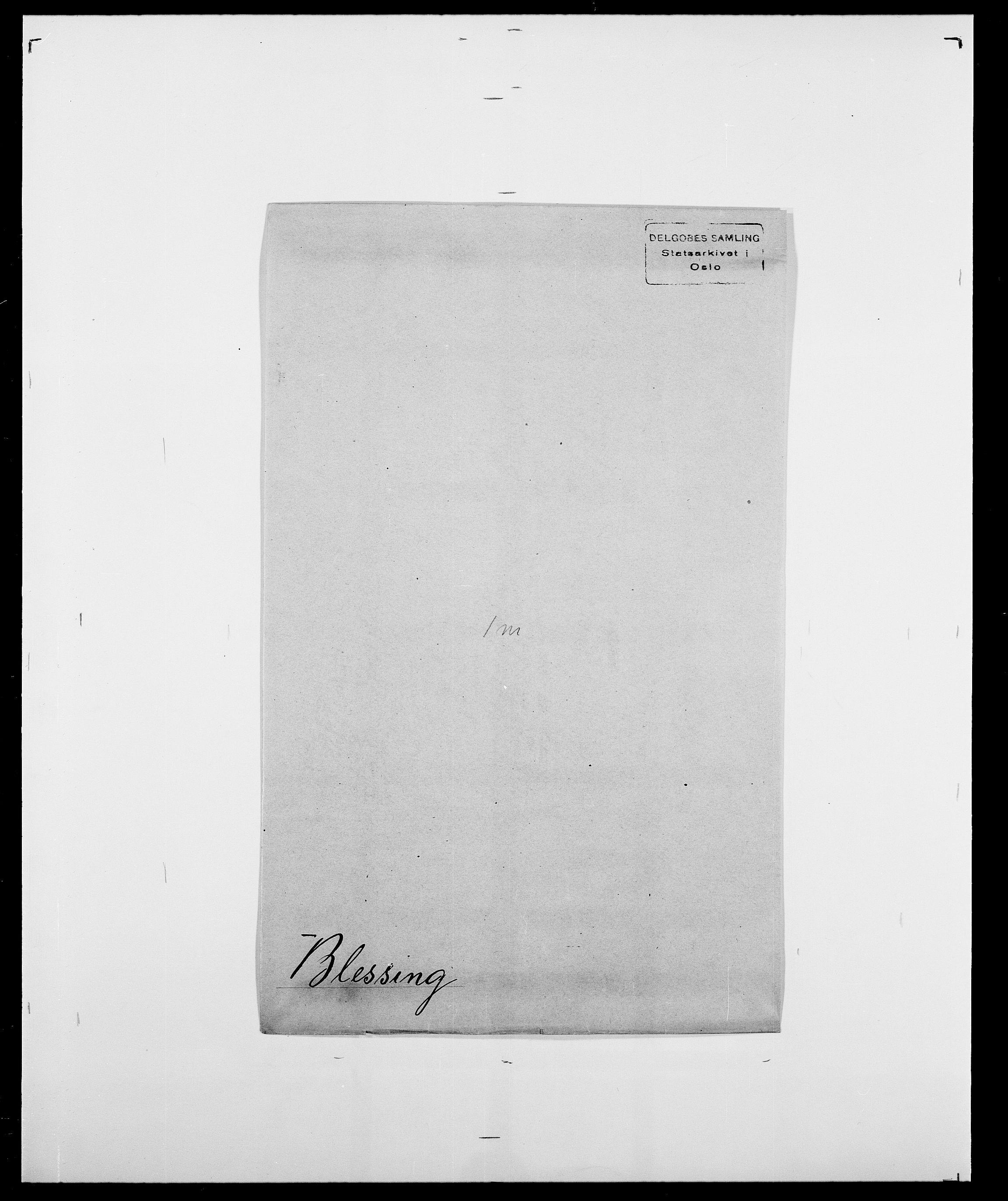 SAO, Delgobe, Charles Antoine - samling, D/Da/L0004: Bergendahl - Blære, s. 578