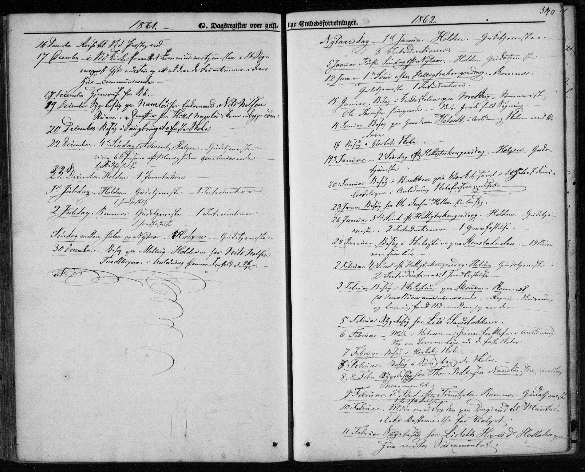 SAKO, Holla kirkebøker, F/Fa/L0006: Ministerialbok nr. 6, 1861-1869, s. 340