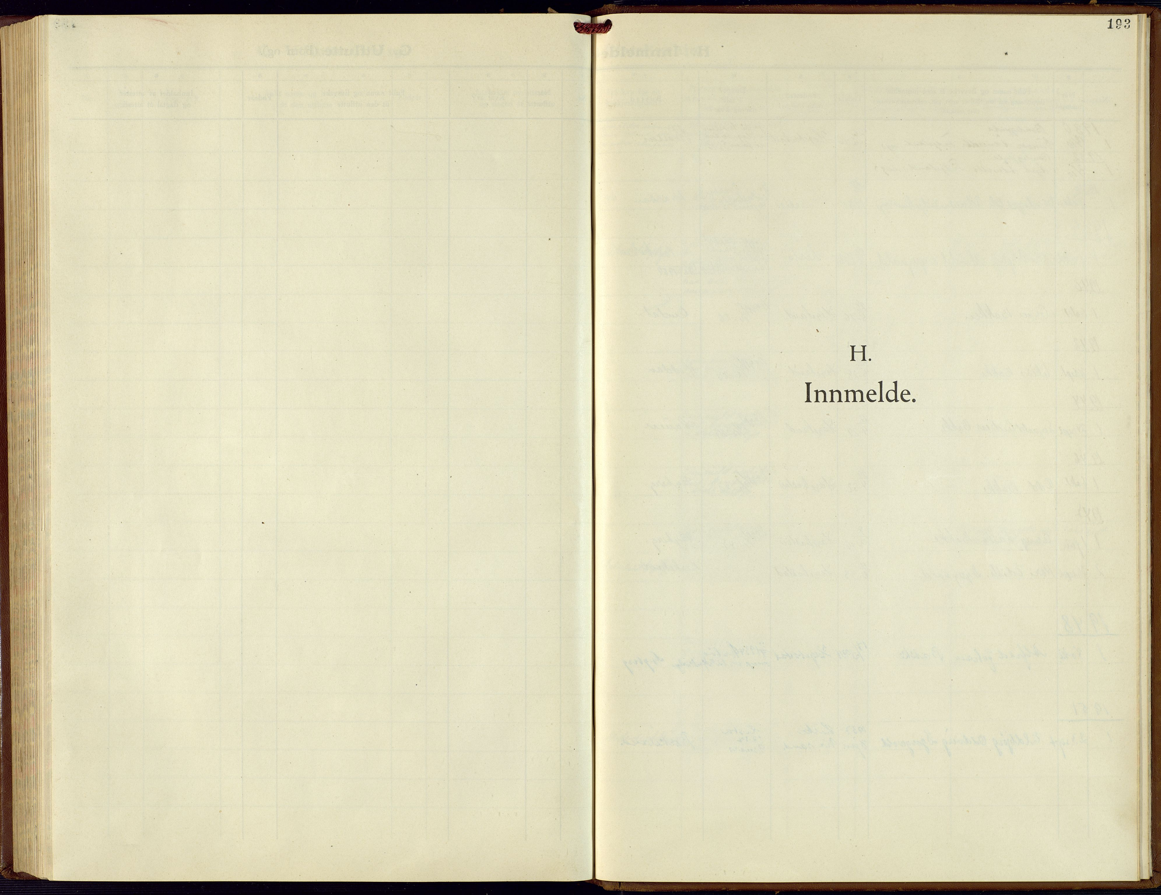 SAK, Hægebostad sokneprestkontor, F/Fb/Fba/L0006: Klokkerbok nr. B 6, 1931-1970, s. 193