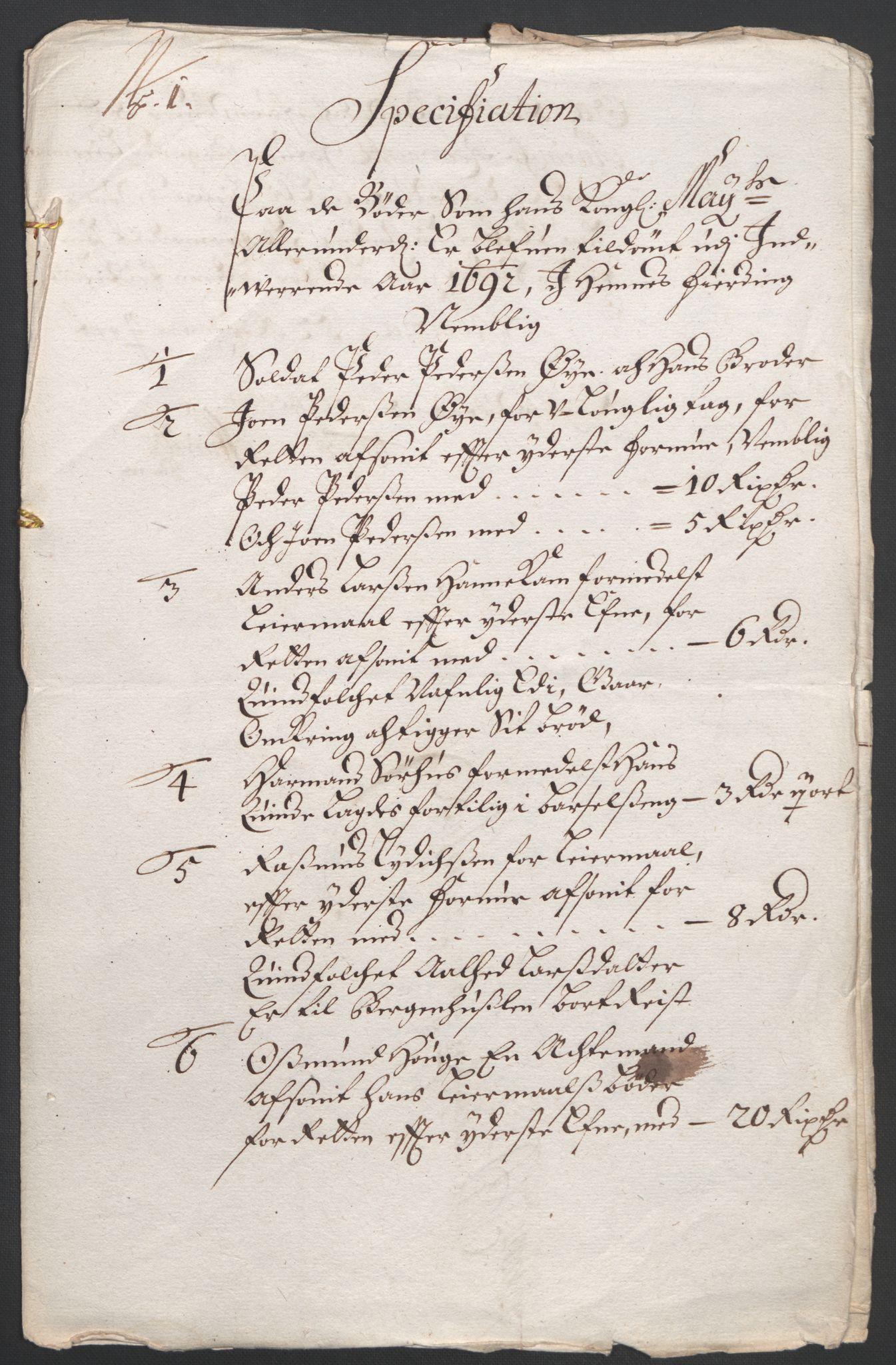 RA, Rentekammeret inntil 1814, Reviderte regnskaper, Fogderegnskap, R47/L2856: Fogderegnskap Ryfylke, 1689-1693, s. 453