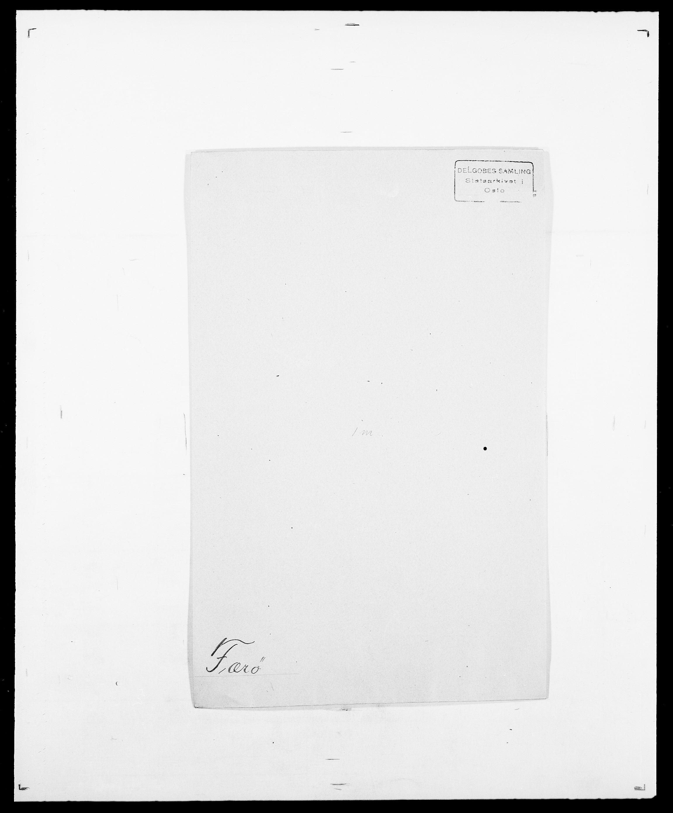 SAO, Delgobe, Charles Antoine - samling, D/Da/L0013: Forbos - Geving, s. 274