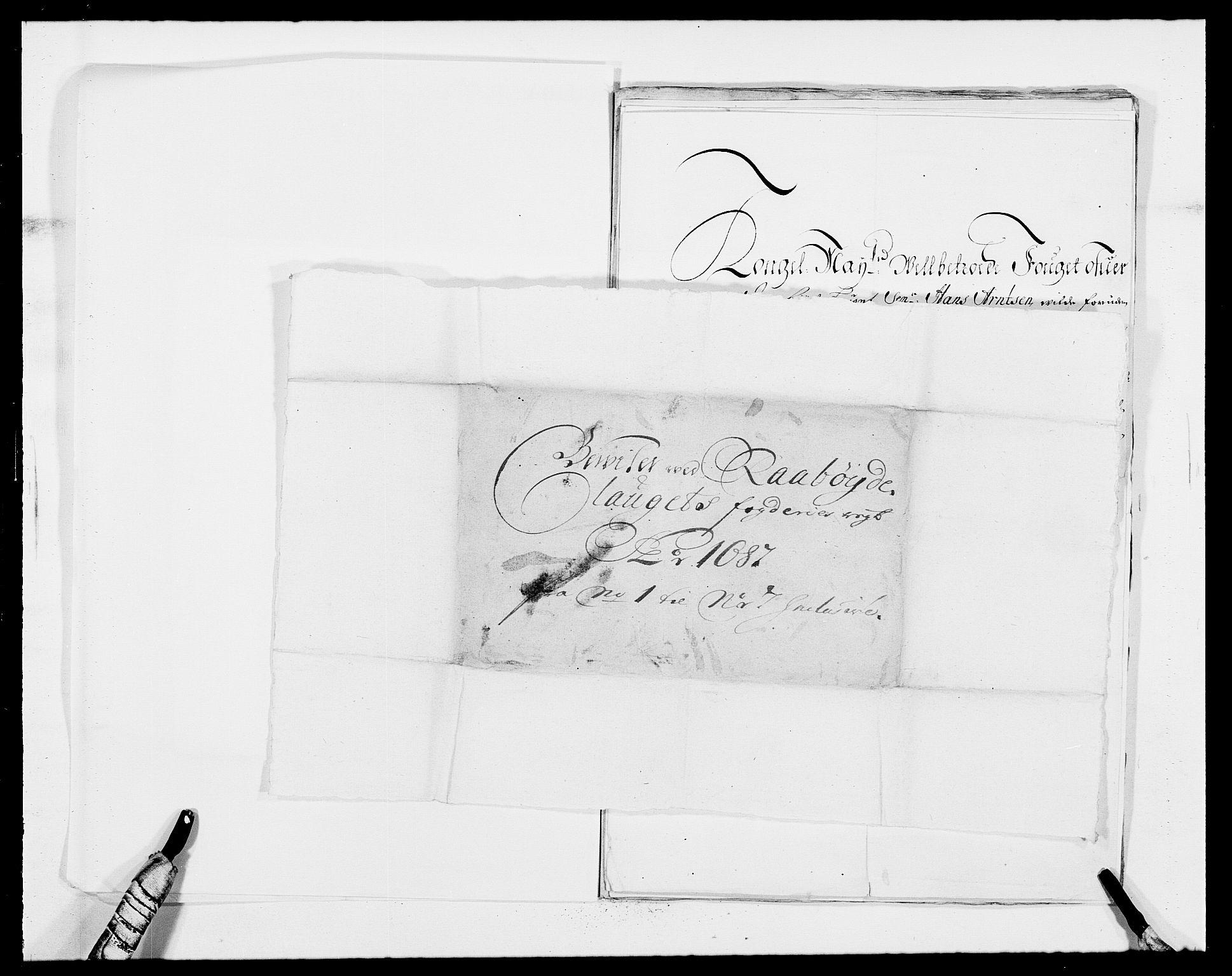 RA, Rentekammeret inntil 1814, Reviderte regnskaper, Fogderegnskap, R40/L2440: Fogderegnskap Råbyggelag, 1686-1687, s. 199