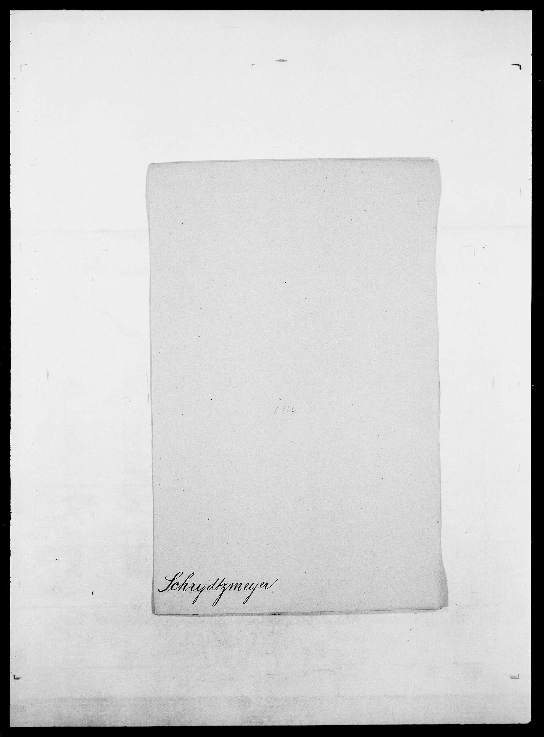 SAO, Delgobe, Charles Antoine - samling, D/Da/L0035: Schnabel - sjetman, s. 184