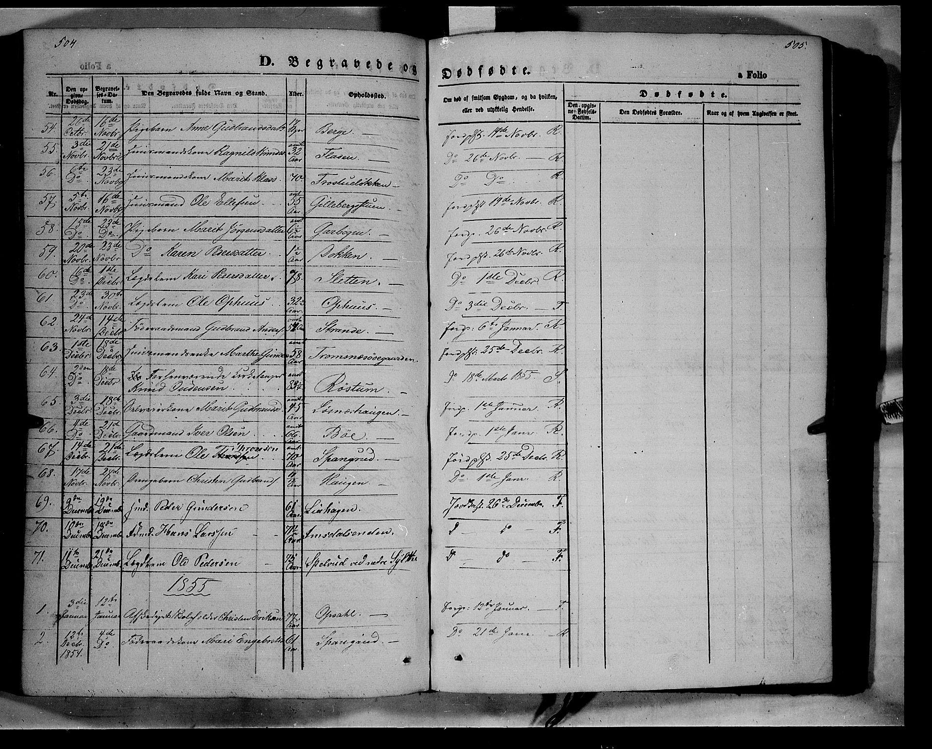 SAH, Ringebu prestekontor, Ministerialbok nr. 6, 1848-1859, s. 504-505