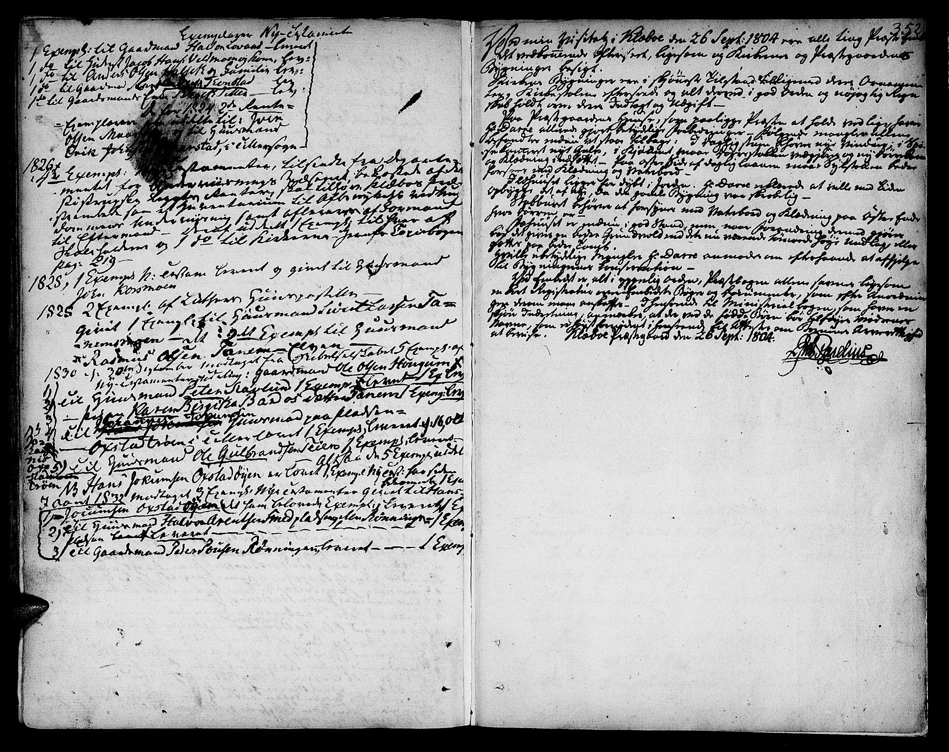 SAT, Ministerialprotokoller, klokkerbøker og fødselsregistre - Sør-Trøndelag, 618/L0438: Ministerialbok nr. 618A03, 1783-1815, s. 352