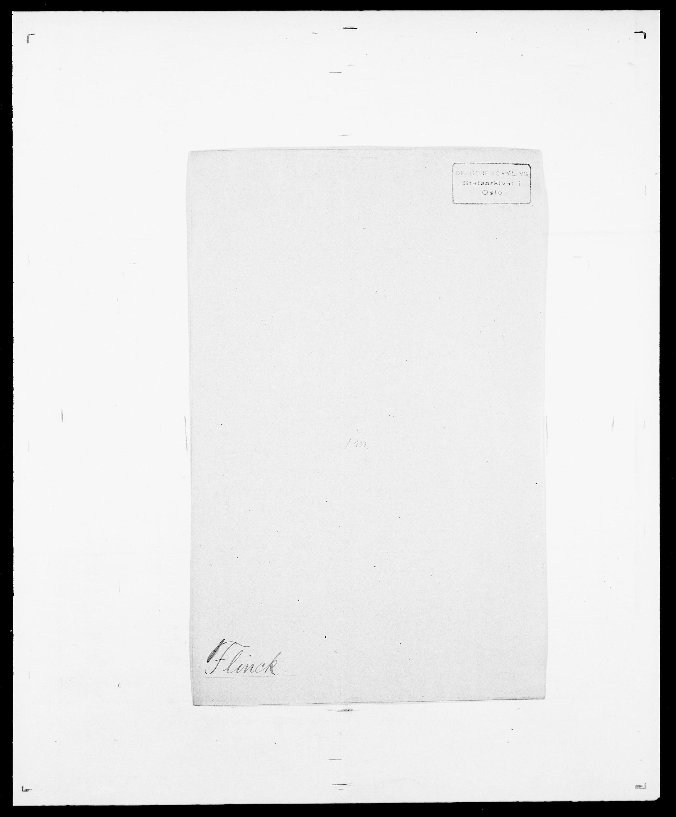 SAO, Delgobe, Charles Antoine - samling, D/Da/L0011: Fahlander - Flood, Flod, s. 637