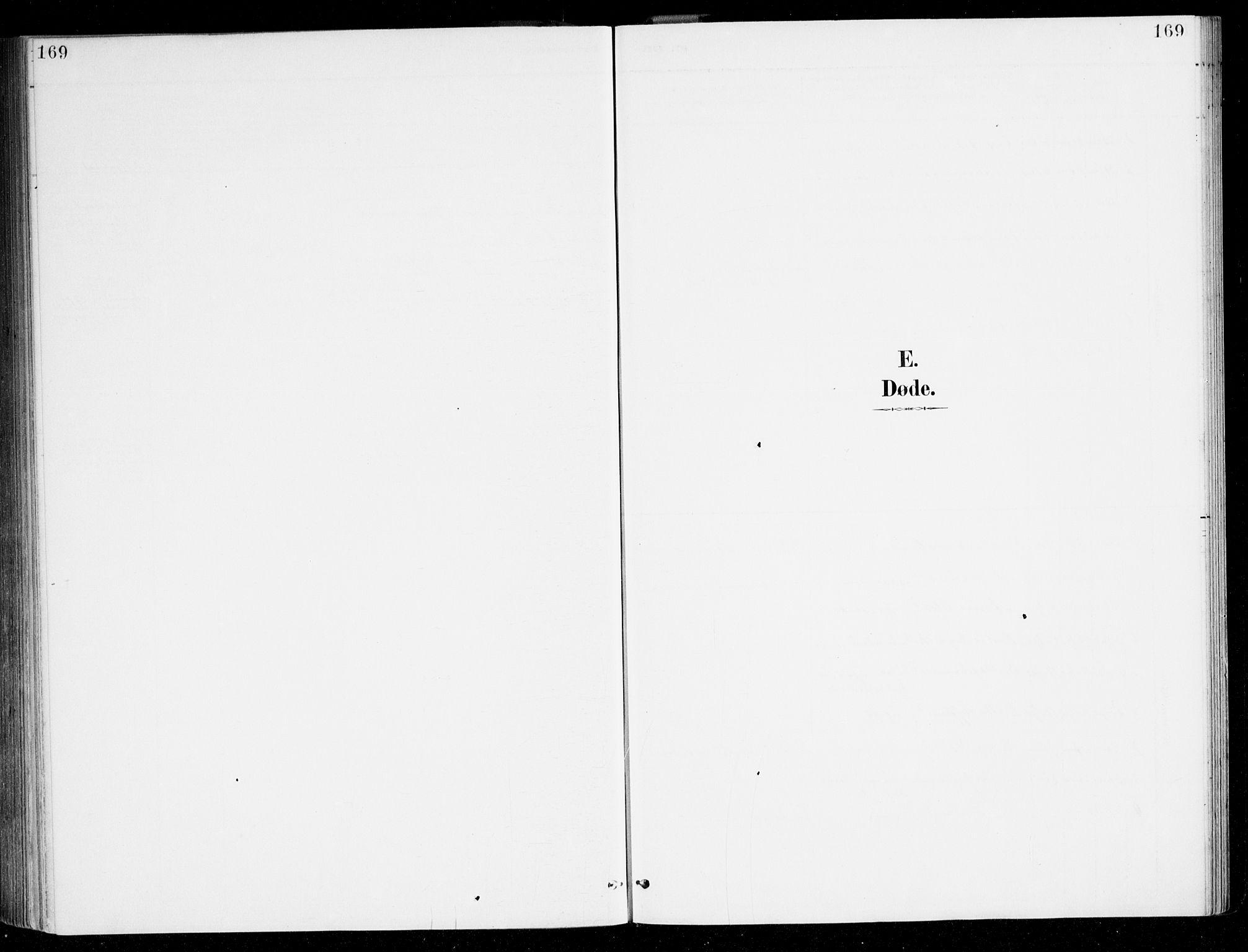 SAB, Haus sokneprestembete, H/Haa: Ministerialbok nr. D 1, 1887-1898, s. 169