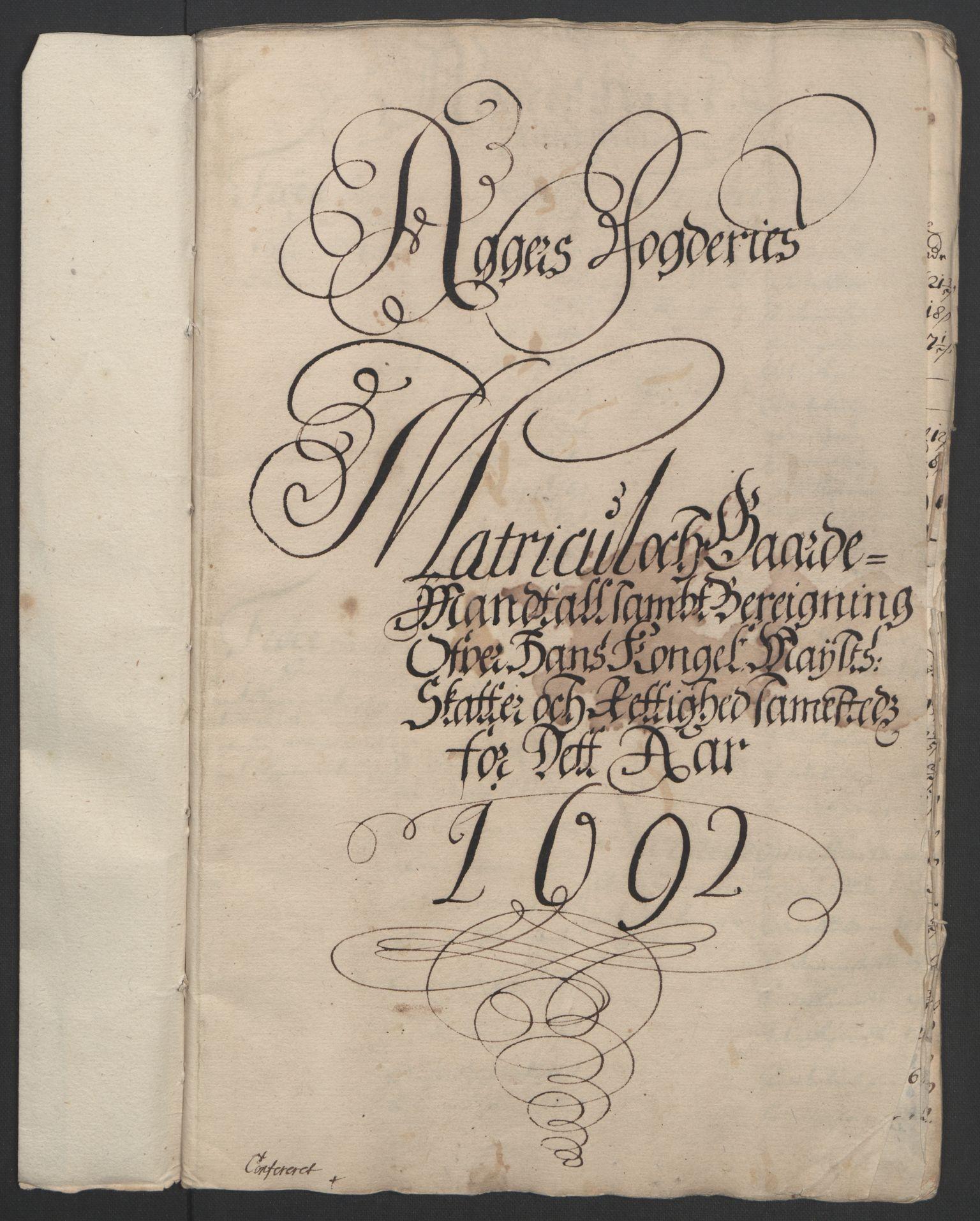 RA, Rentekammeret inntil 1814, Reviderte regnskaper, Fogderegnskap, R08/L0426: Fogderegnskap Aker, 1692-1693, s. 31