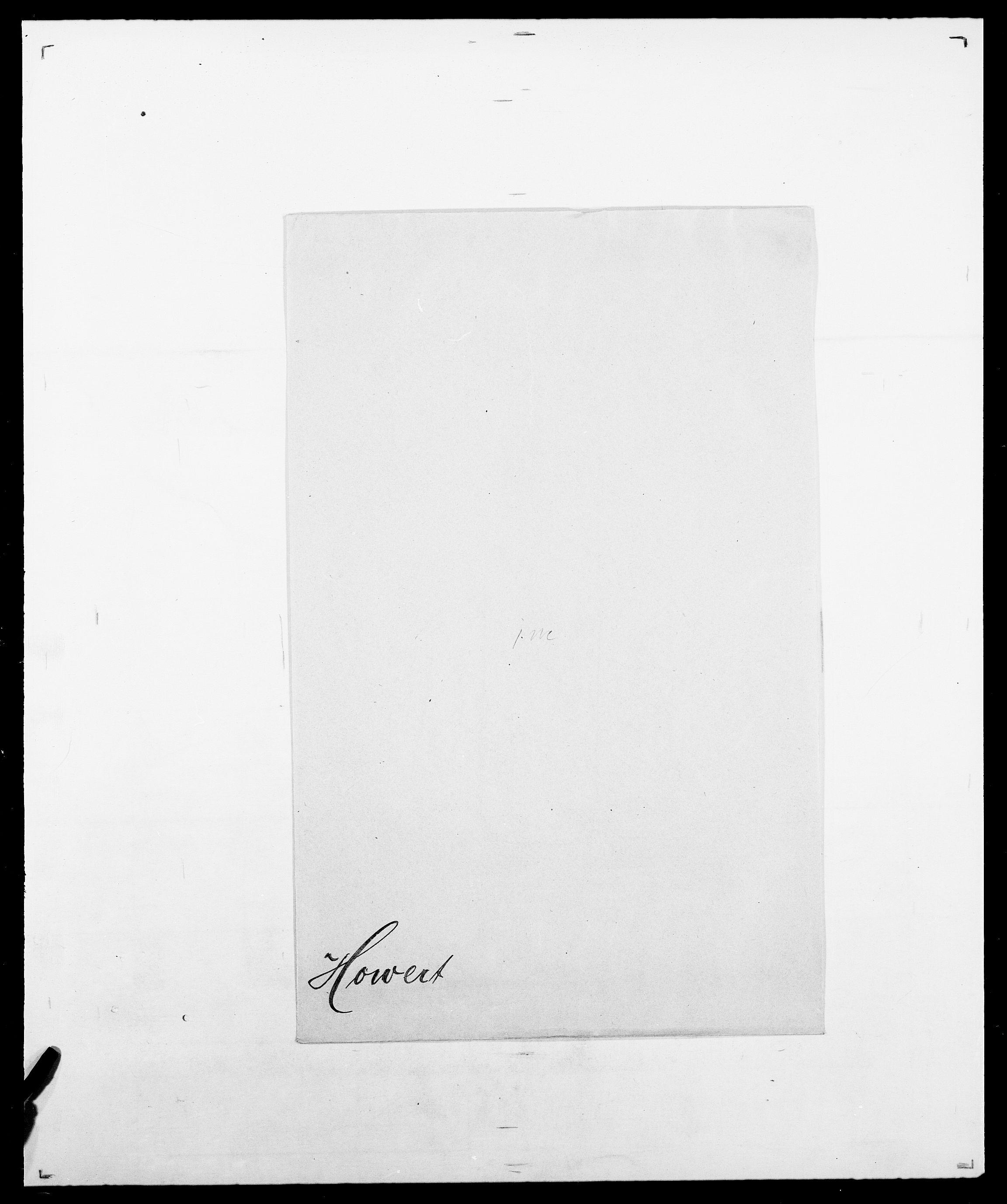 SAO, Delgobe, Charles Antoine - samling, D/Da/L0018: Hoch - Howert, s. 1058