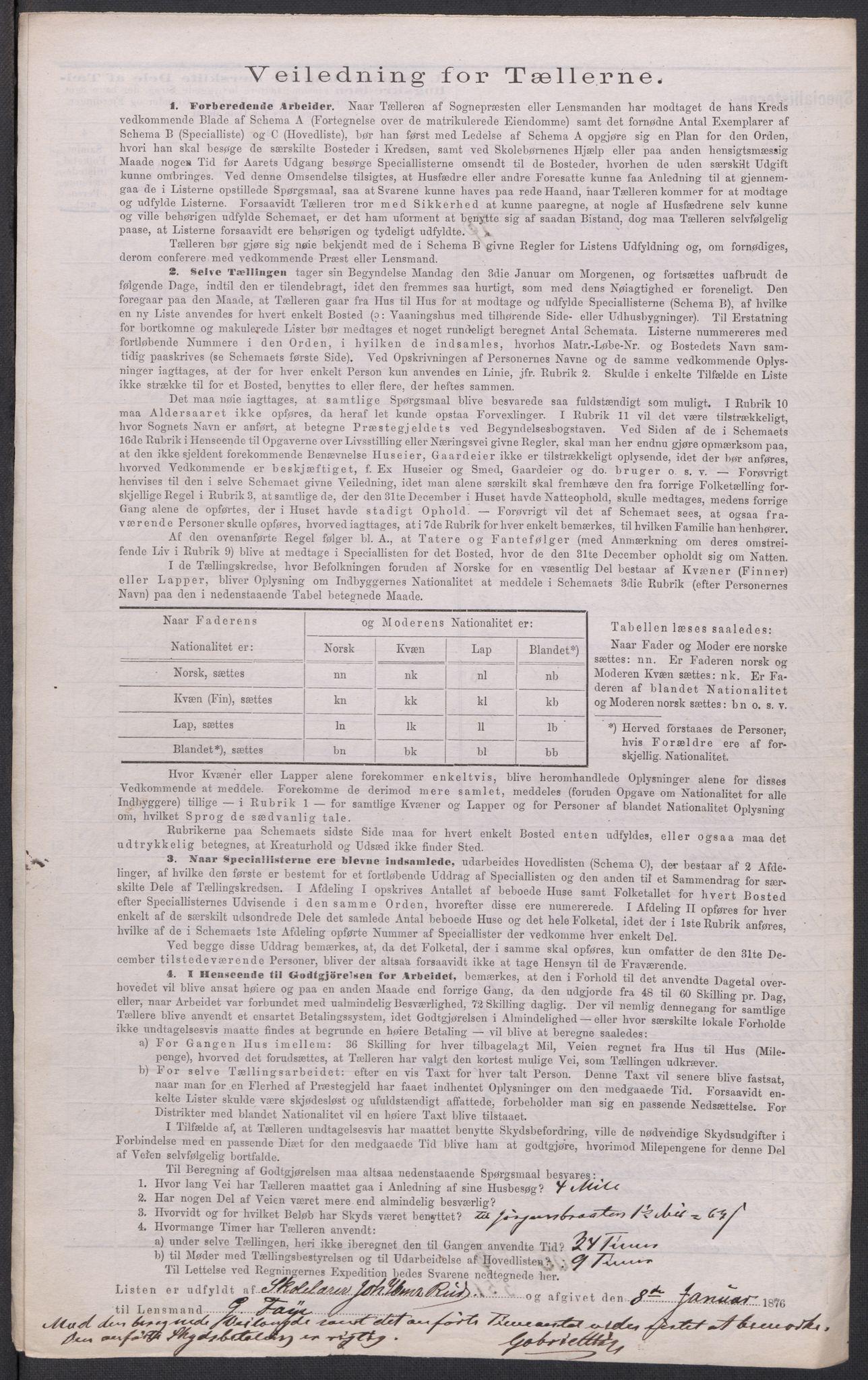 RA, Folketelling 1875 for 0227P Fet prestegjeld, 1875, s. 67