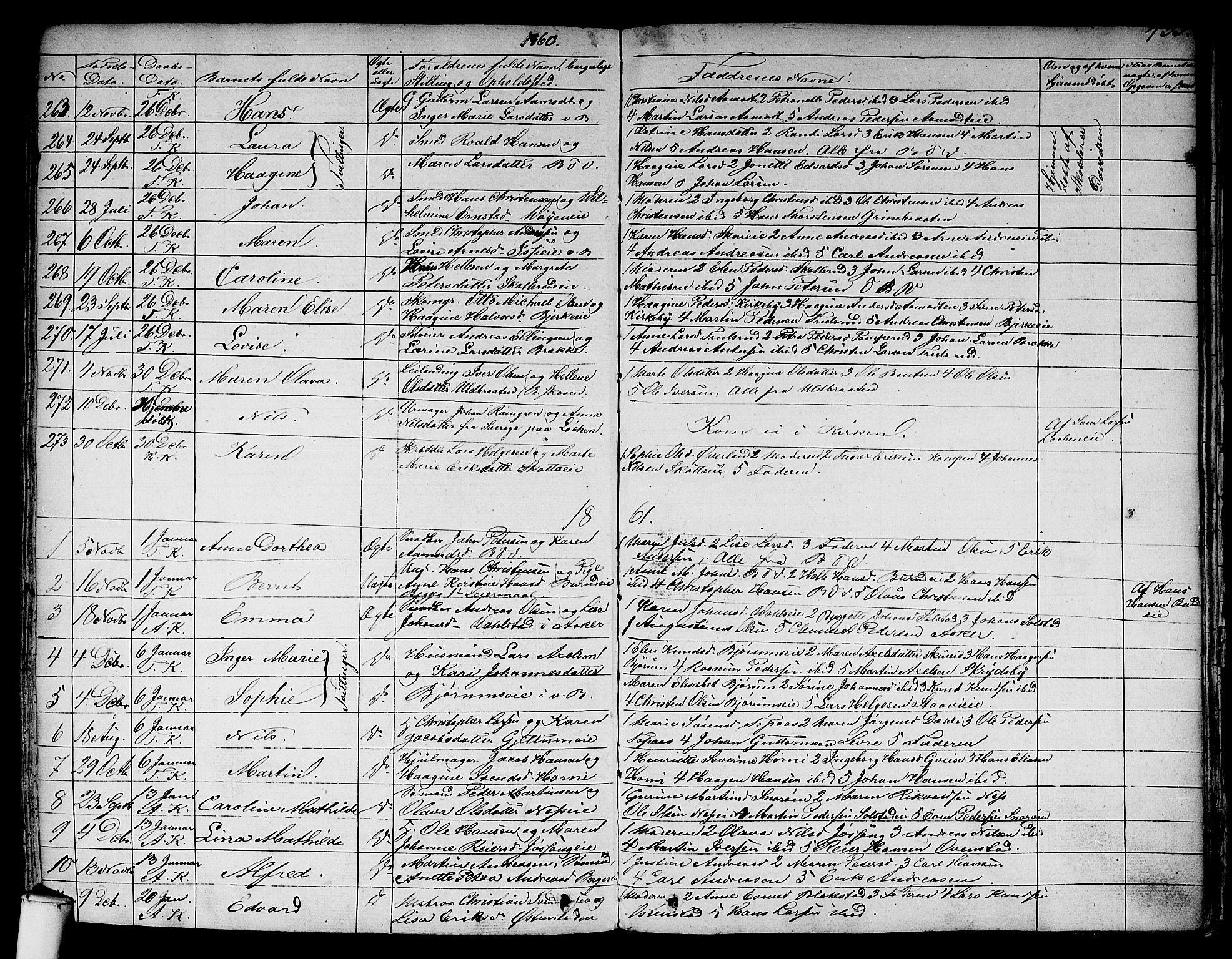 SAO, Asker prestekontor Kirkebøker, F/Fa/L0007: Ministerialbok nr. I 7, 1825-1864, s. 433