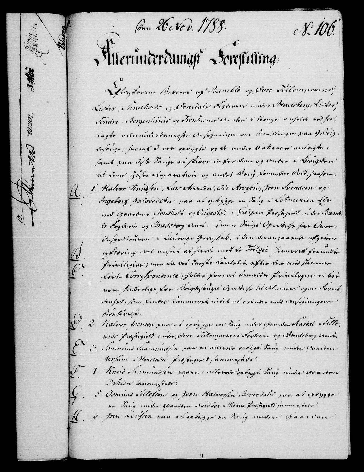RA, Rentekammeret, Kammerkanselliet, G/Gf/Gfa/L0070: Norsk relasjons- og resolusjonsprotokoll (merket RK 52.70), 1788, s. 616
