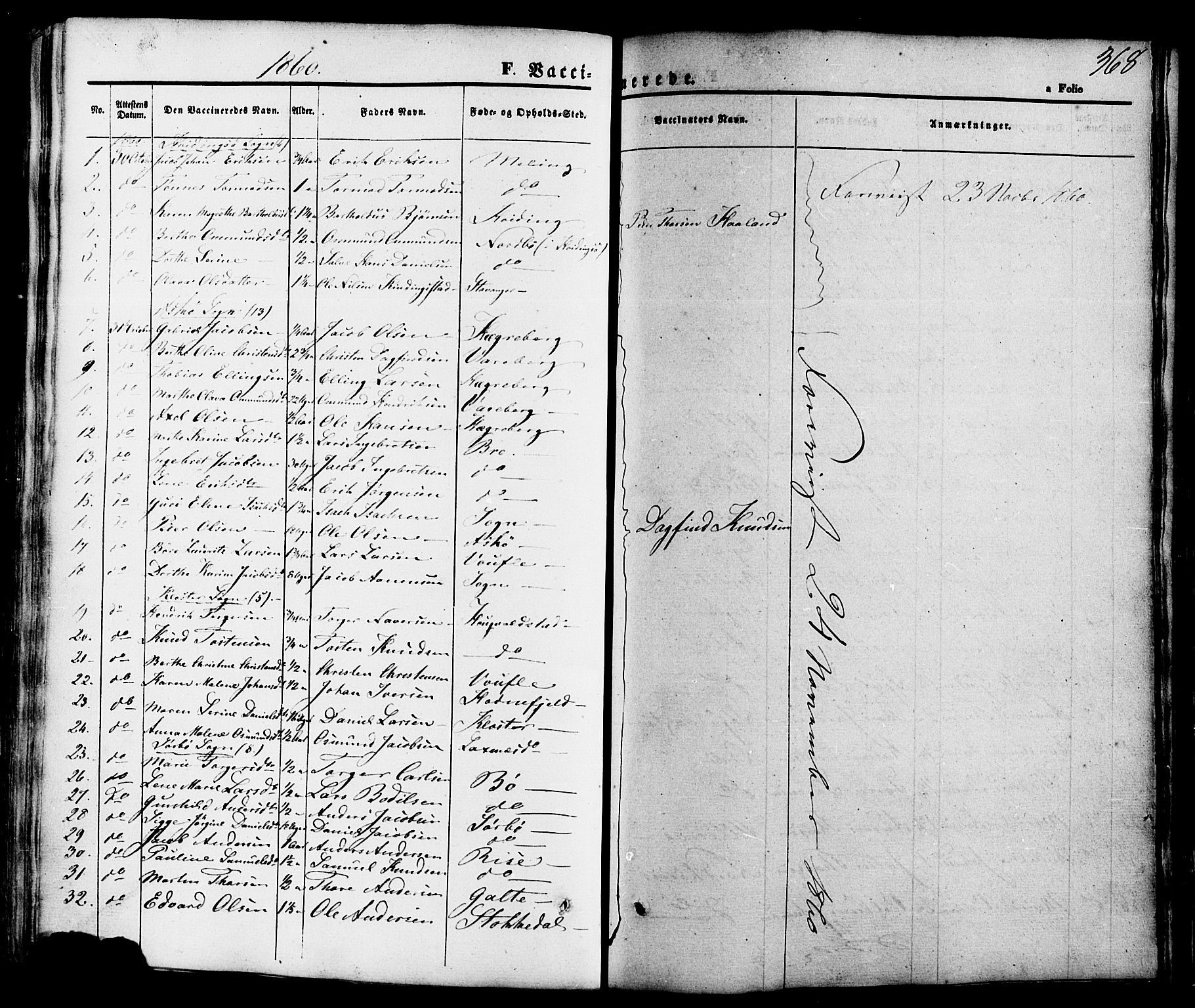 SAST, Rennesøy sokneprestkontor, H/Ha/Haa/L0006: Ministerialbok nr. A 6, 1860-1878, s. 368