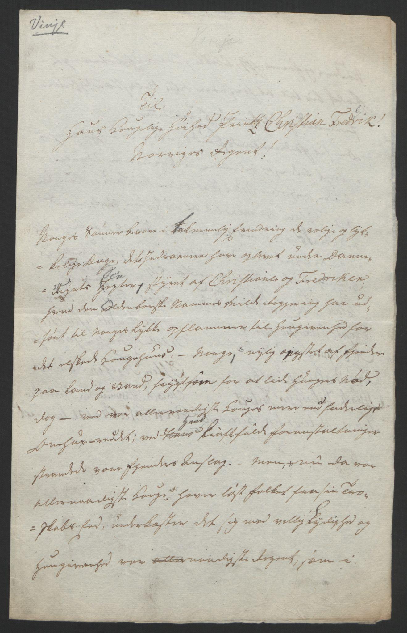 RA, Statsrådssekretariatet, D/Db/L0008: Fullmakter for Eidsvollsrepresentantene i 1814. , 1814, s. 72