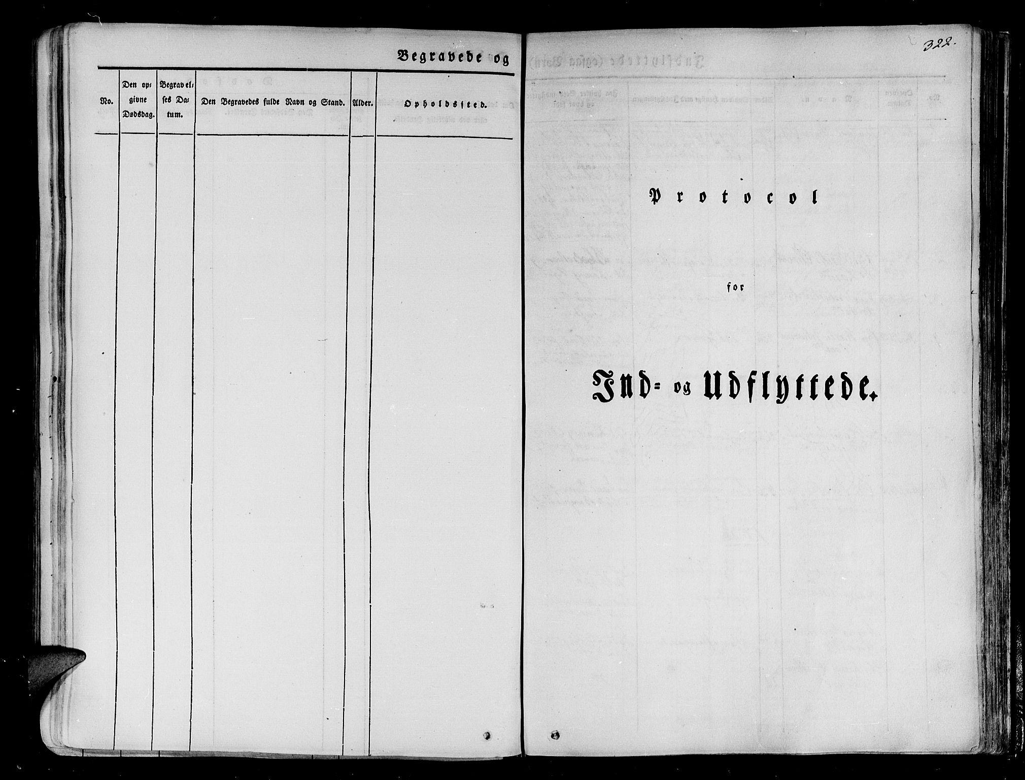 SATØ, Tranøy sokneprestkontor, I/Ia/Iaa/L0005kirke: Ministerialbok nr. 5, 1829-1844, s. 322