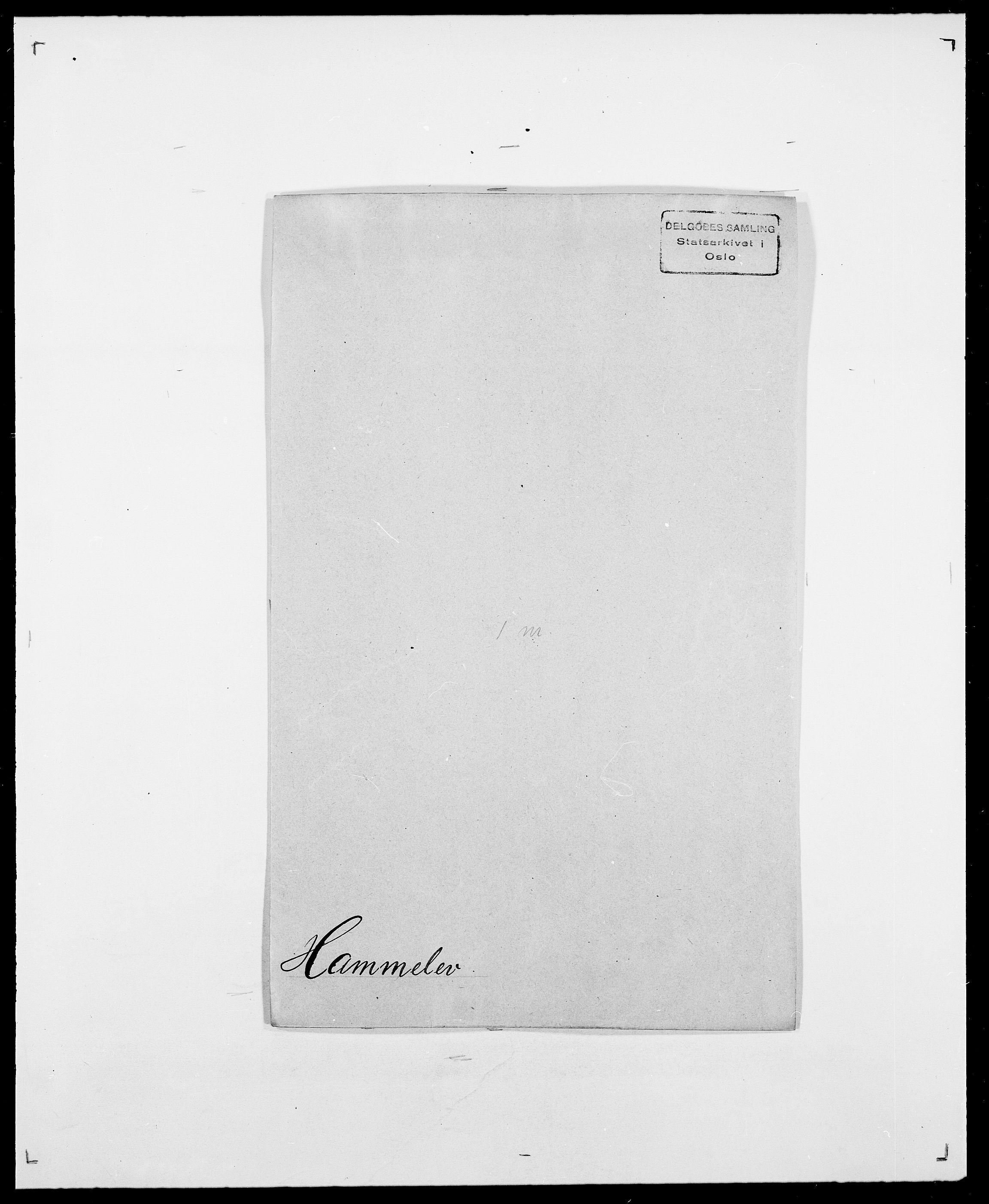 SAO, Delgobe, Charles Antoine - samling, D/Da/L0016: Hamborg - Hektoen, s. 28