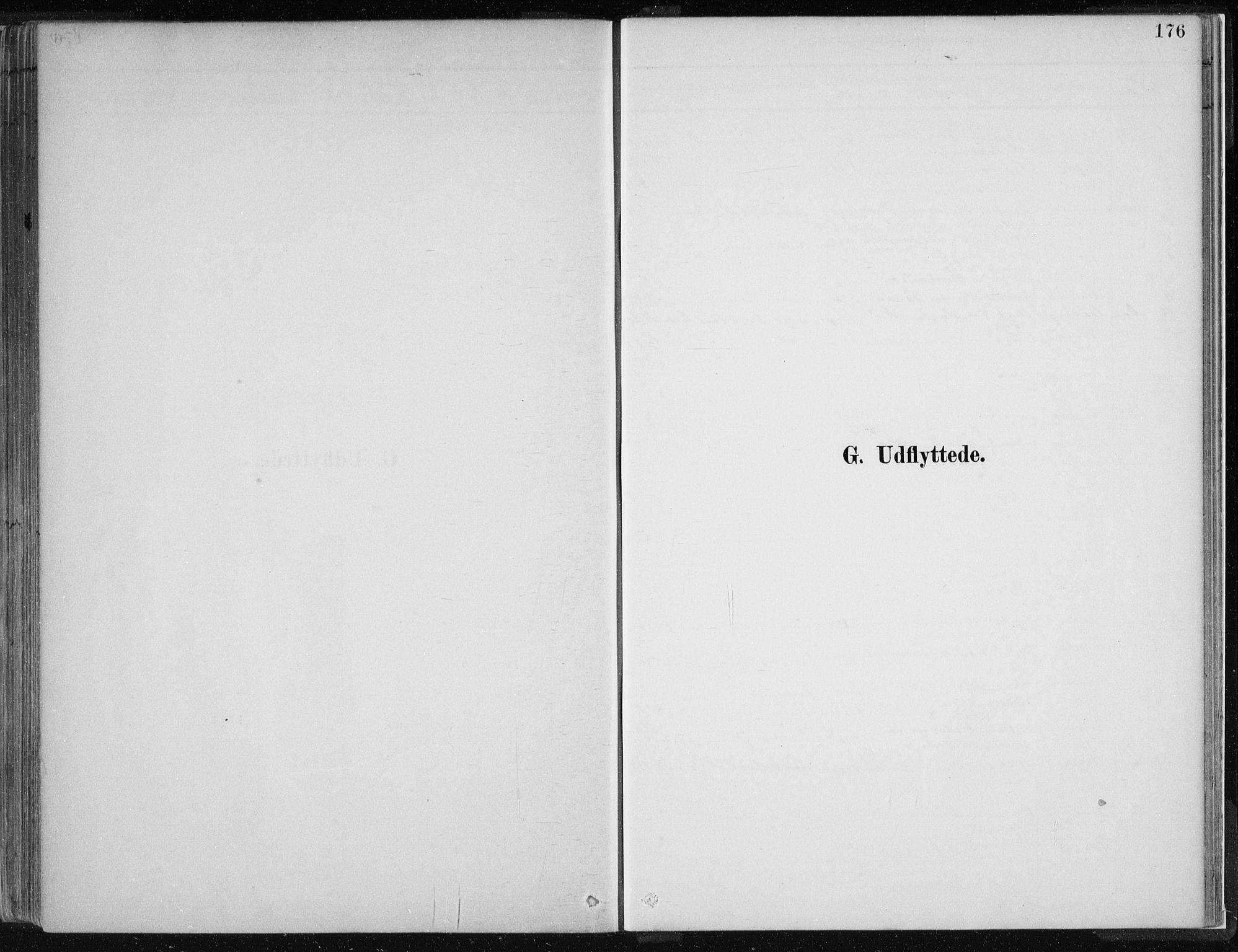 SAB, Hamre sokneprestembete, H/Ha/Haa: Ministerialbok nr. D  1, 1882-1906, s. 176