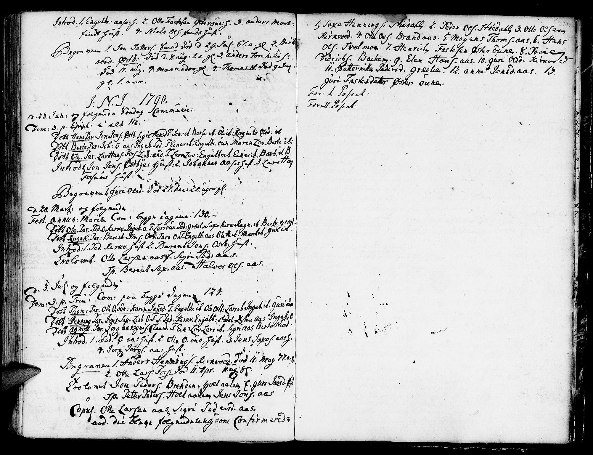 SAT, Ministerialprotokoller, klokkerbøker og fødselsregistre - Sør-Trøndelag, 695/L1139: Ministerialbok nr. 695A02 /2, 1776-1790, s. 270
