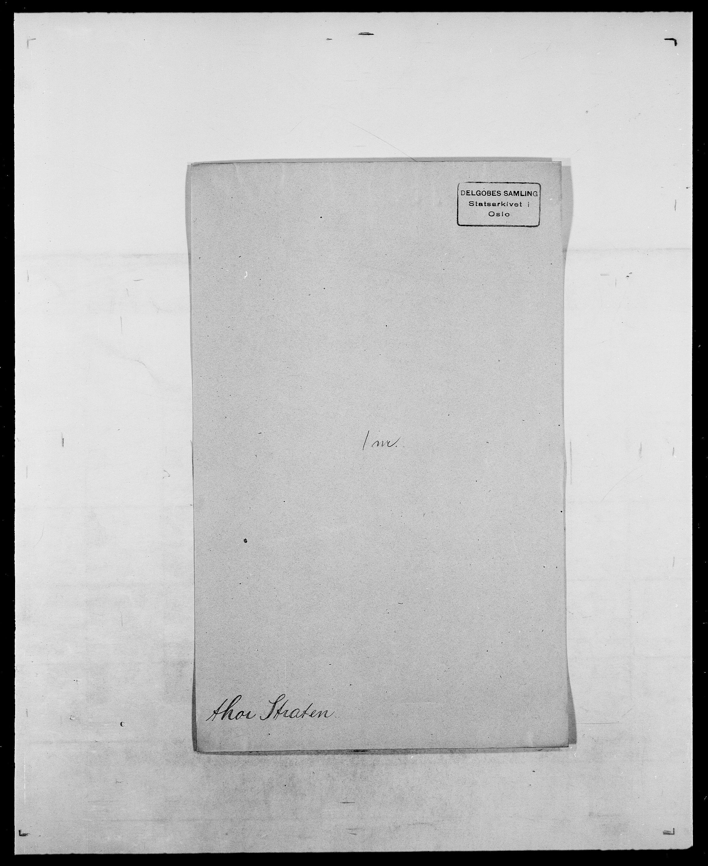 SAO, Delgobe, Charles Antoine - samling, D/Da/L0037: Steen, Sthen, Stein - Svare, Svanige, Svanne, se også Svanning og Schwane, s. 584