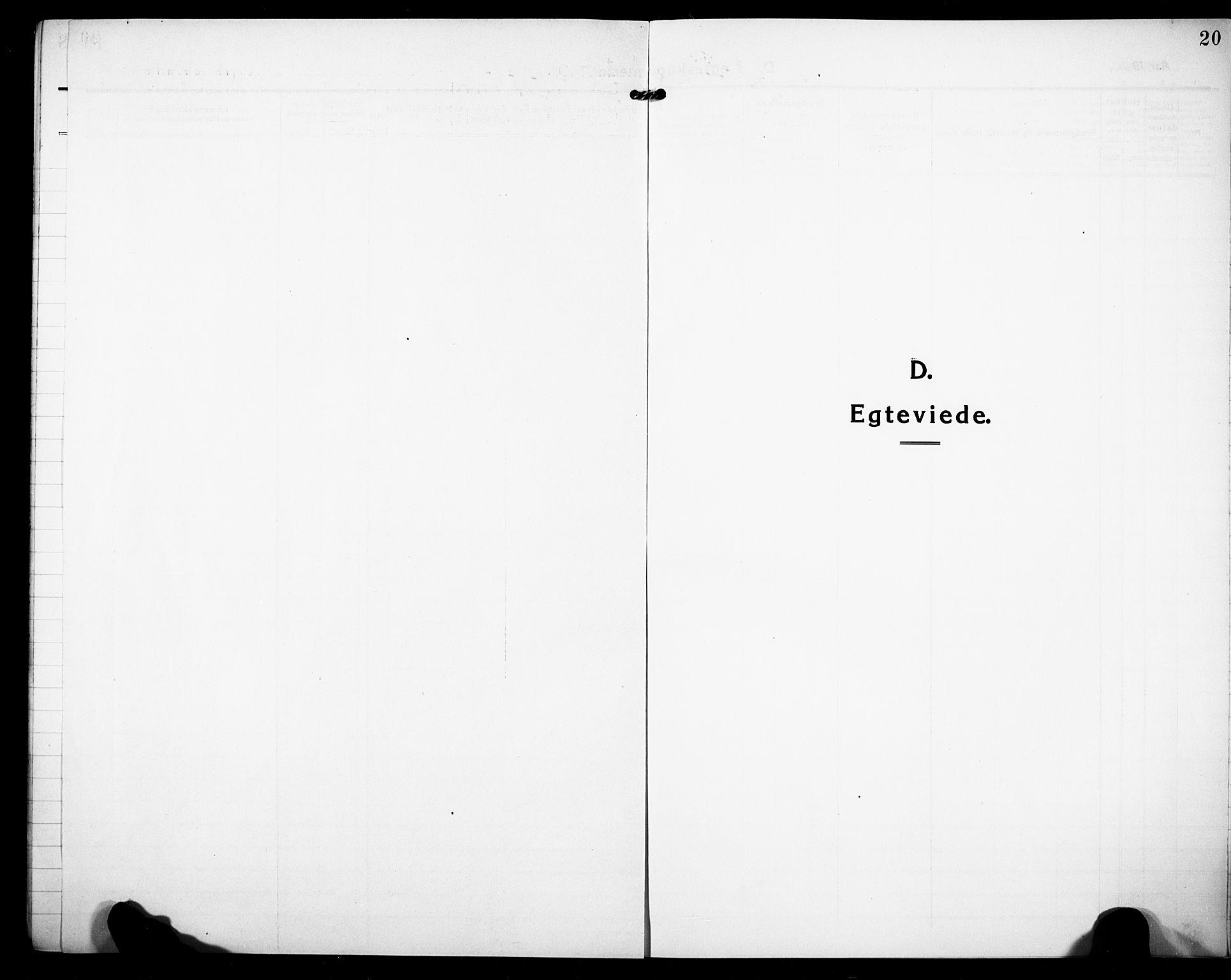 SAKO, Sandefjord kirkebøker, F/Fa/L0006: Ministerialbok nr. 6, 1915-1930, s. 20