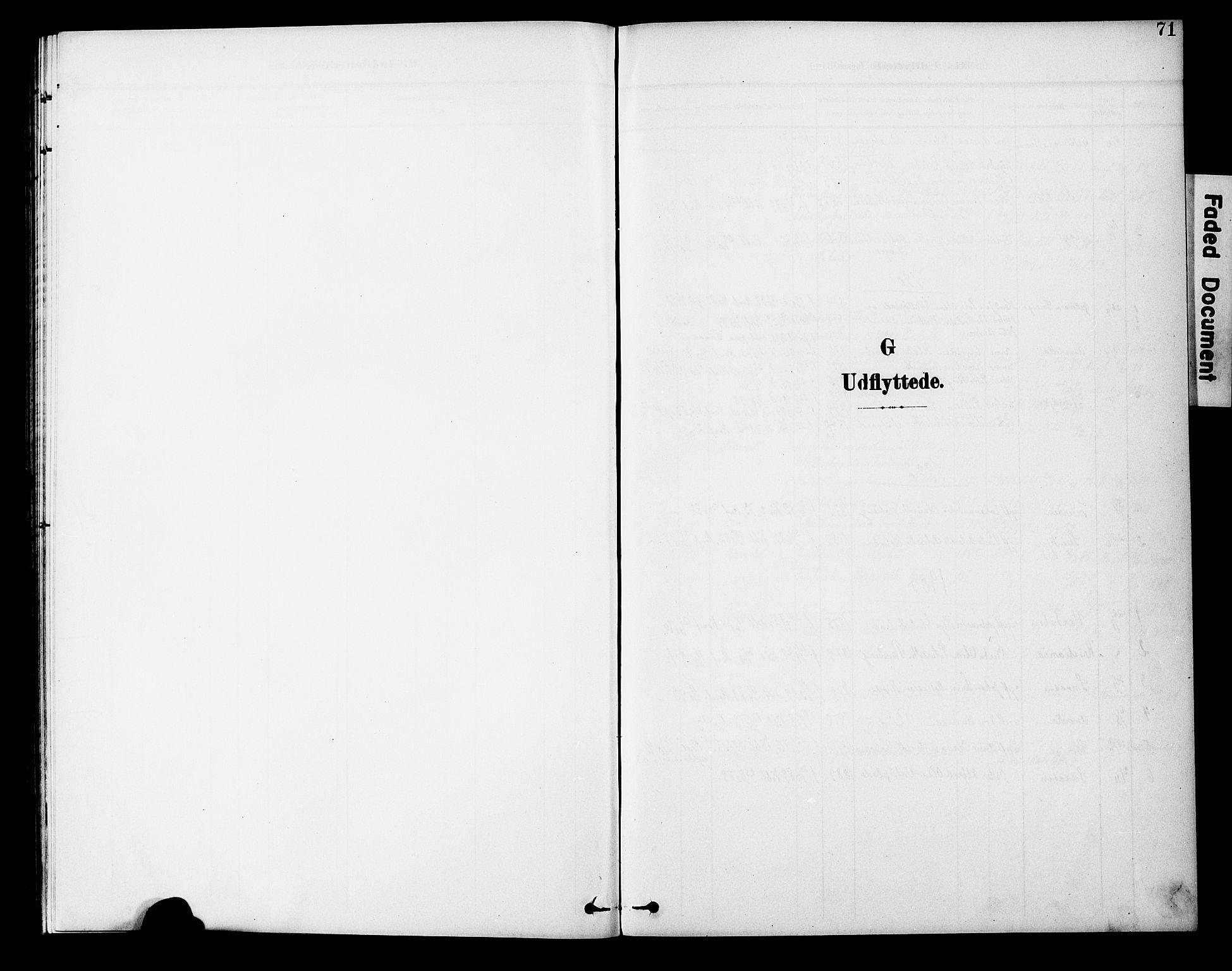 SAT, Ministerialprotokoller, klokkerbøker og fødselsregistre - Nord-Trøndelag, 746/L0452: Ministerialbok nr. 746A09, 1900-1908, s. 71