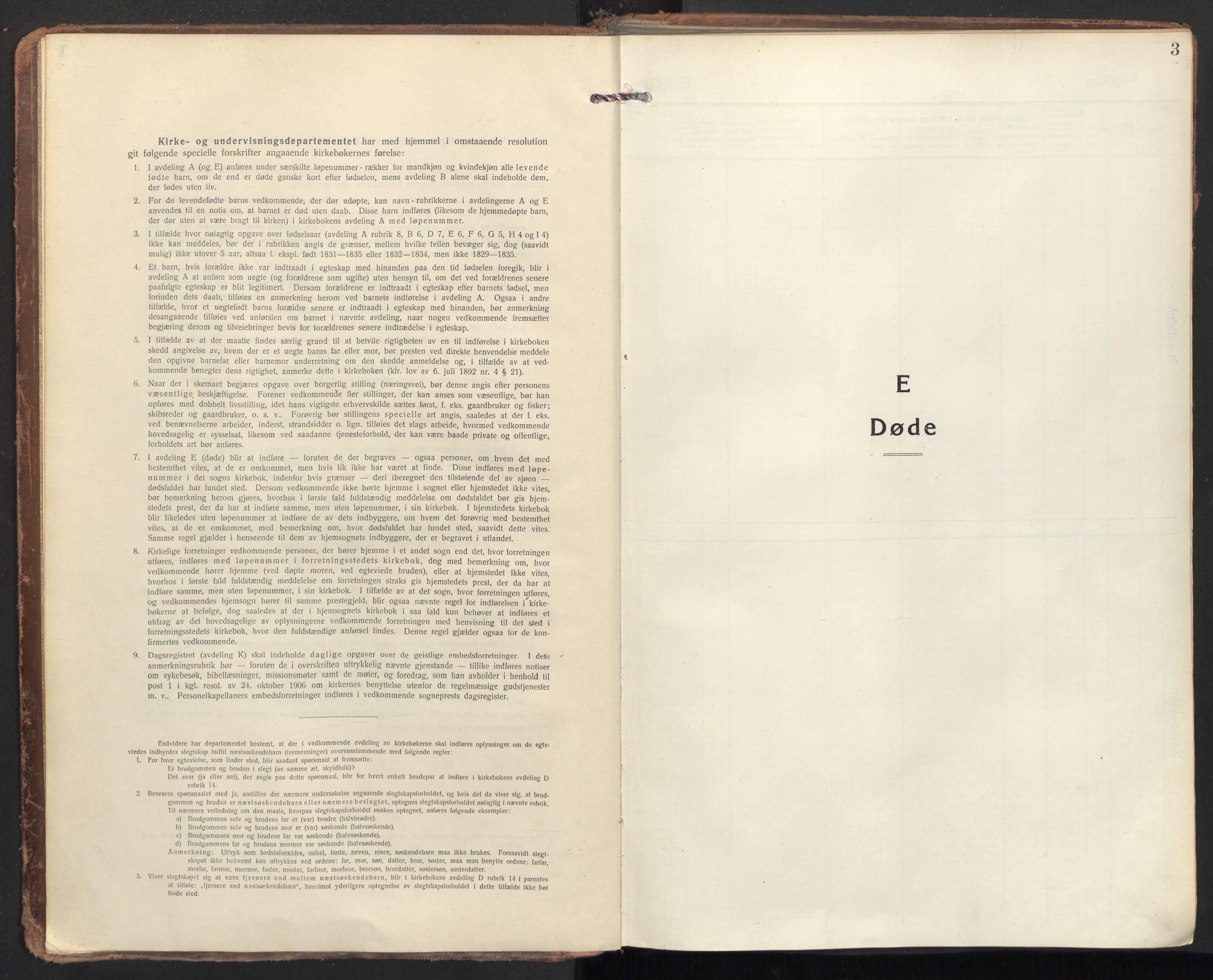 SAT, Ministerialprotokoller, klokkerbøker og fødselsregistre - Sør-Trøndelag, 604/L0207: Ministerialbok nr. 604A27, 1917-1933, s. 3