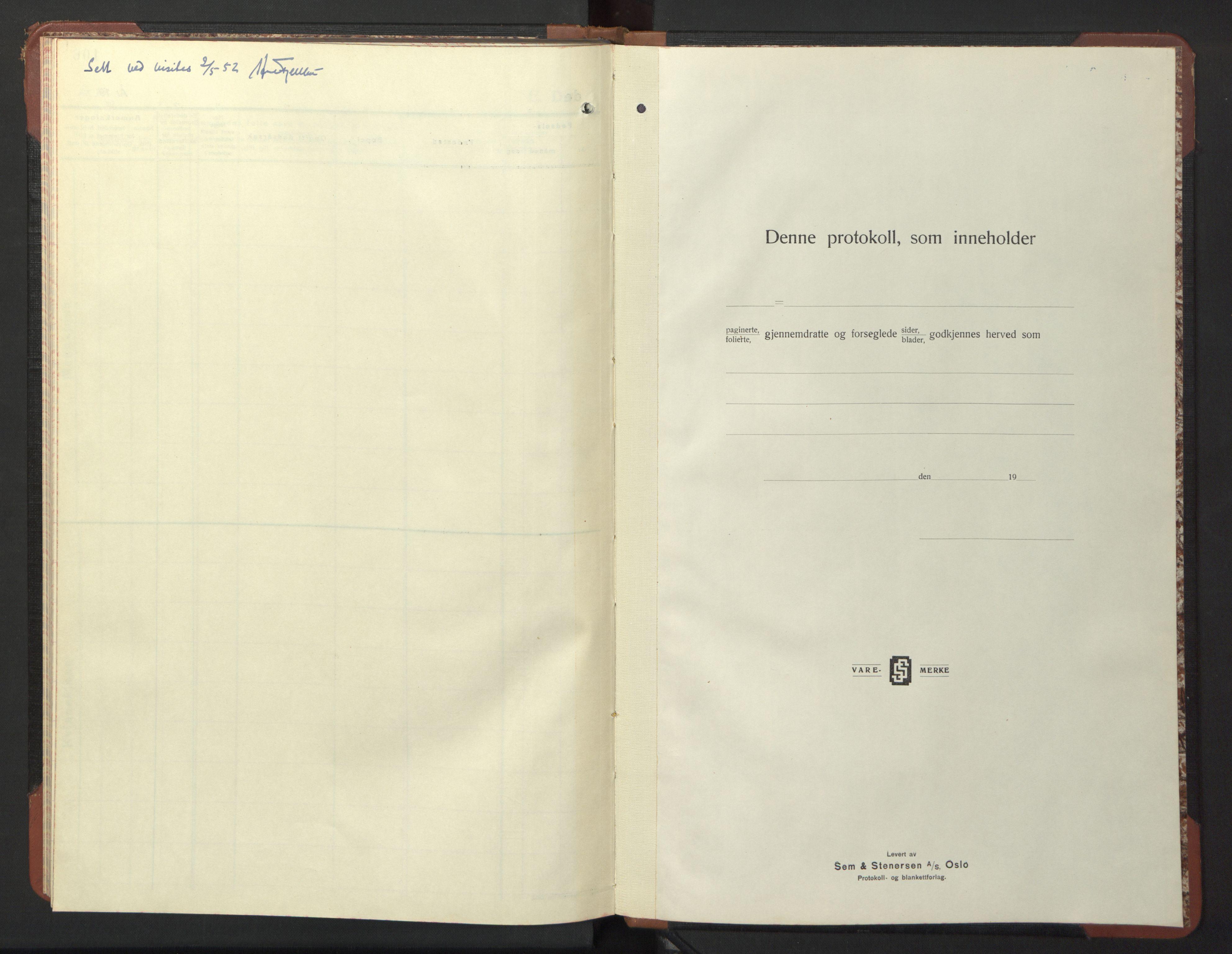 SAT, Ministerialprotokoller, klokkerbøker og fødselsregistre - Sør-Trøndelag, 611/L0358: Klokkerbok nr. 611C06, 1943-1946, s. 98