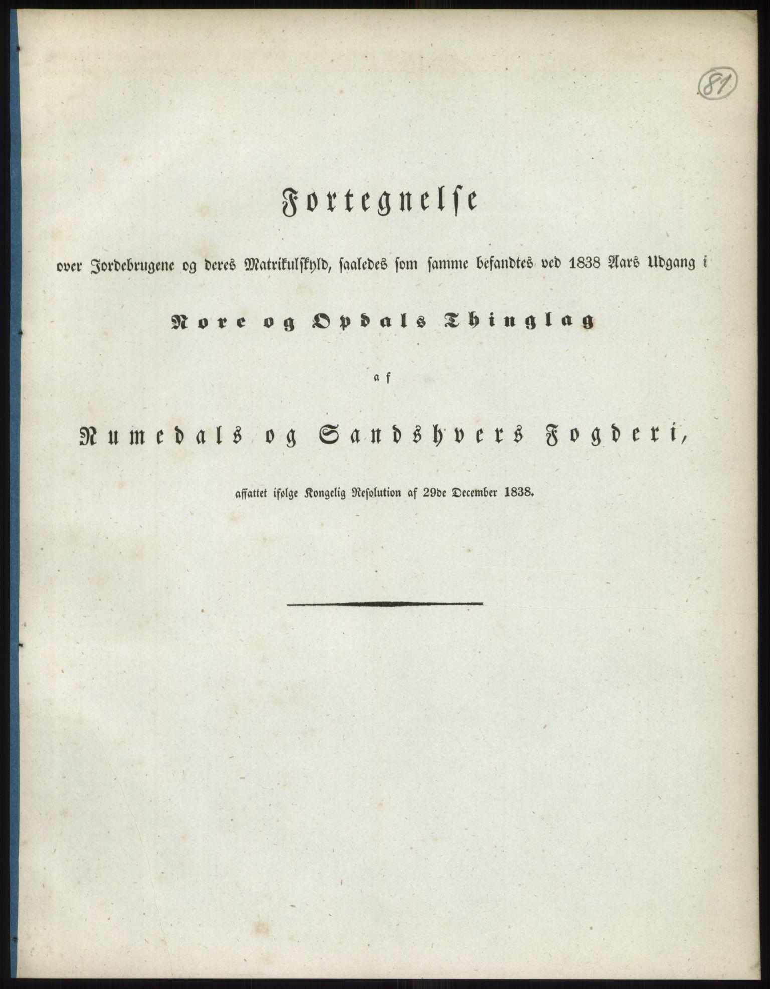RA, 1838-matrikkelen (publikasjon)*, 1838, s. 81