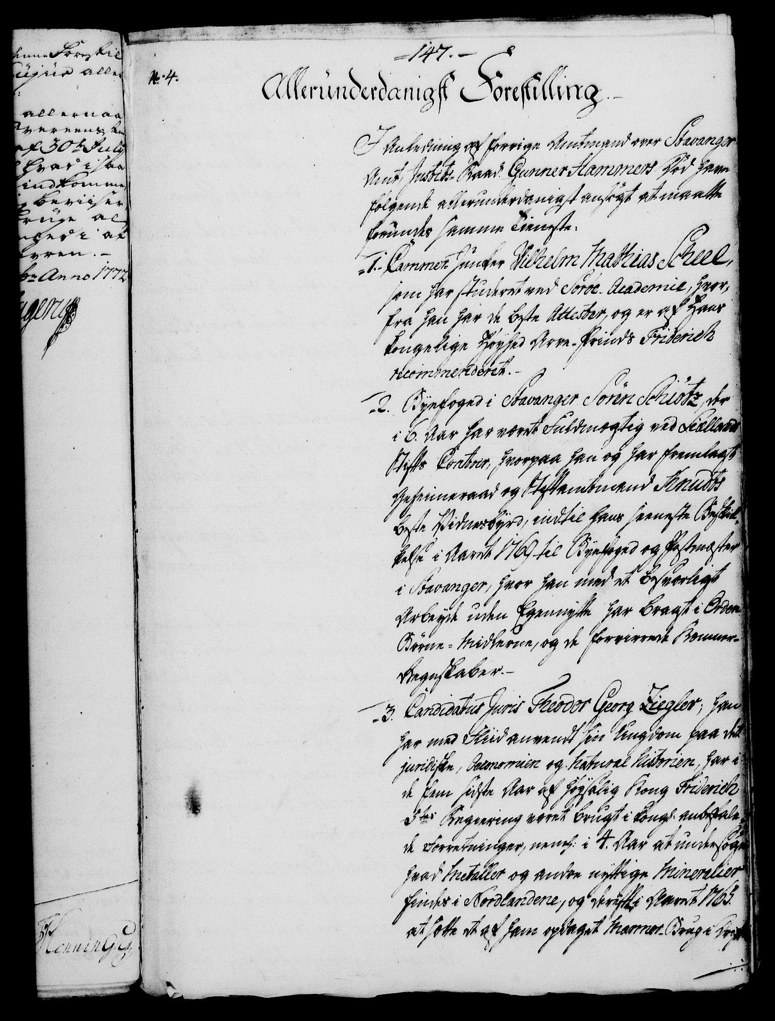 RA, Rentekammeret, Kammerkanselliet, G/Gf/Gfa/L0054: Norsk relasjons- og resolusjonsprotokoll (merket RK 52.54), 1771-1772, s. 744
