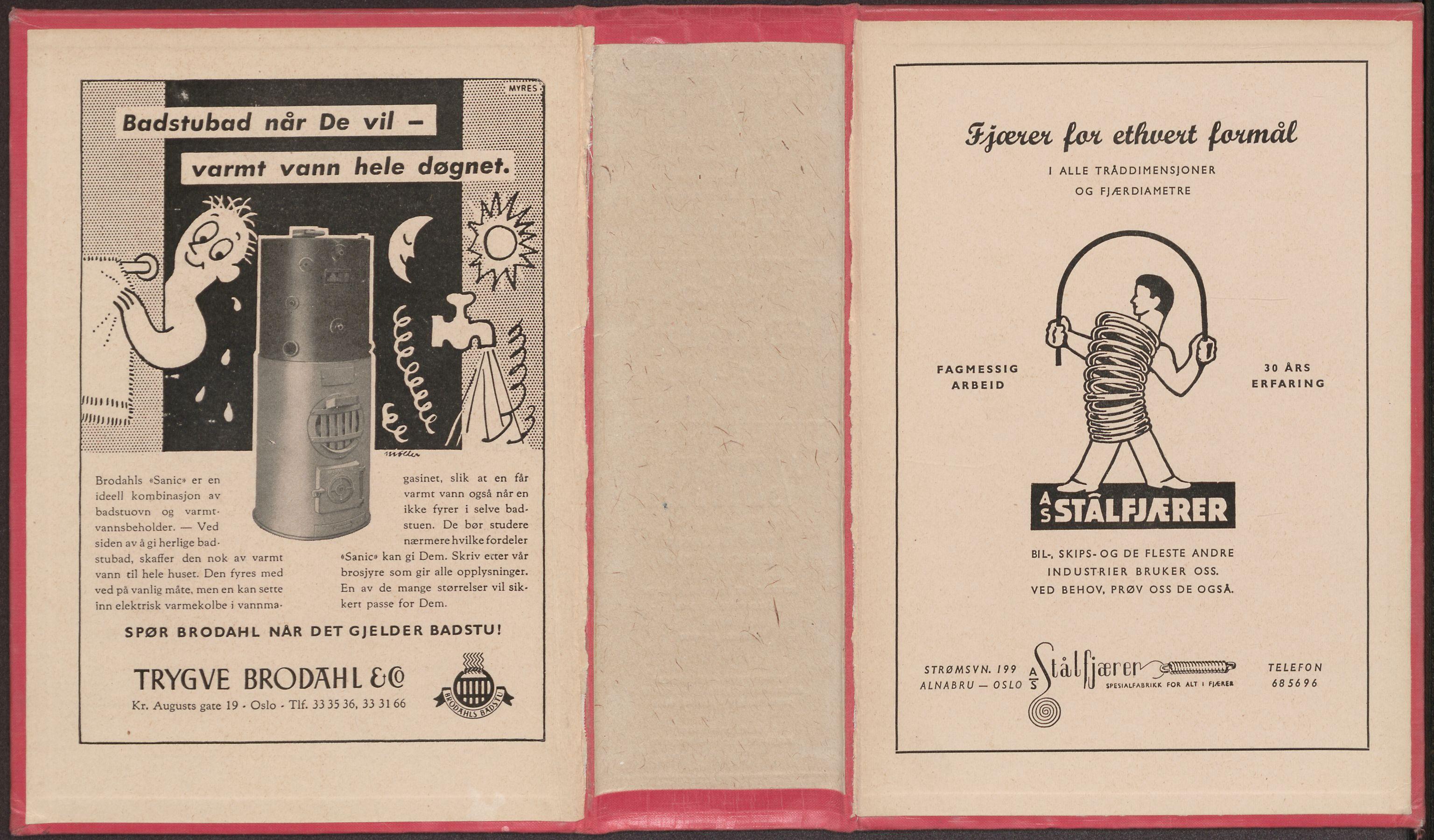 PUBL, Kristiania/Oslo adressebok, 1957-1958