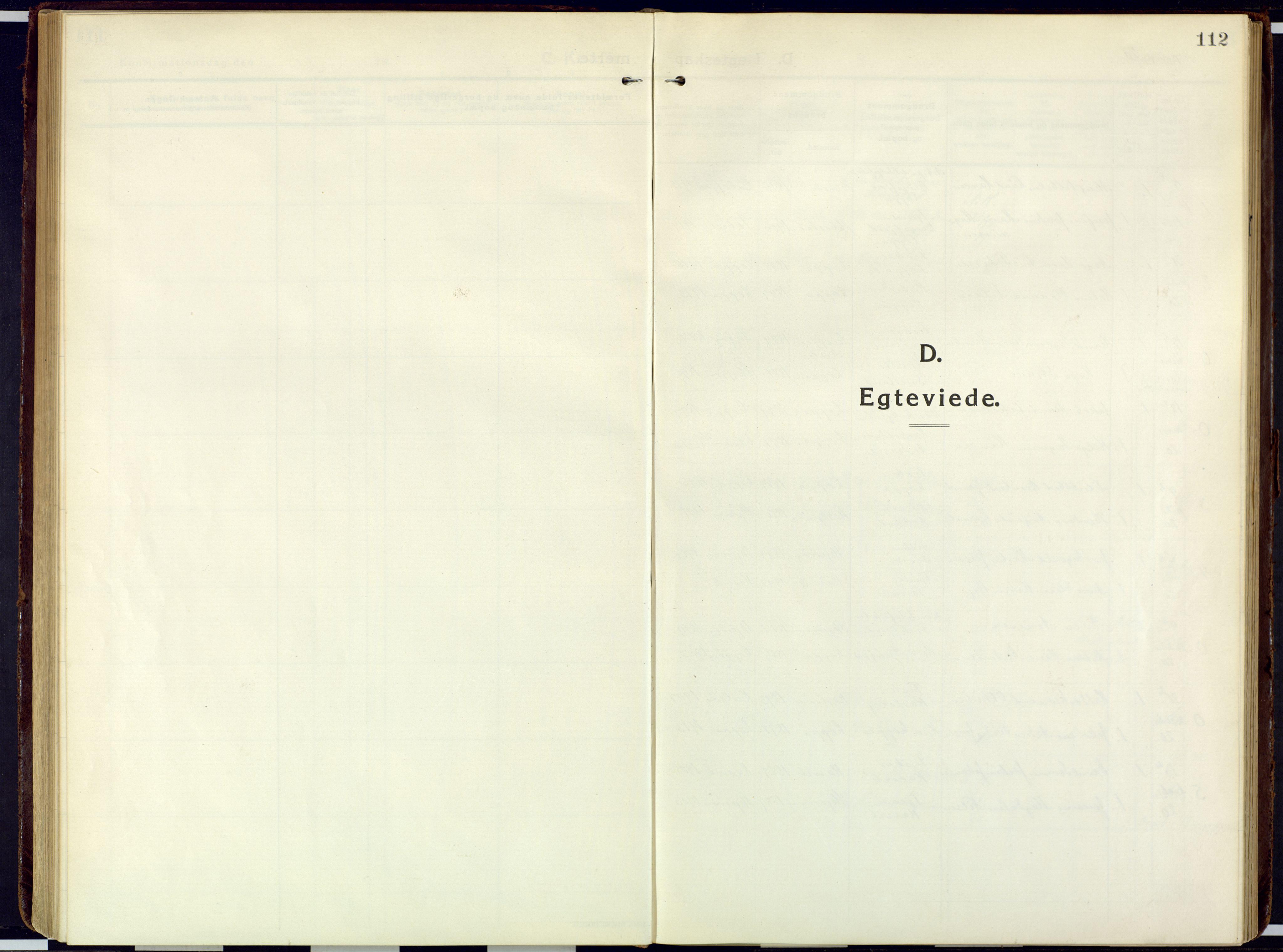 SATØ, Loppa sokneprestkontor, H/Ha/L0013kirke: Ministerialbok nr. 13, 1920-1932, s. 112