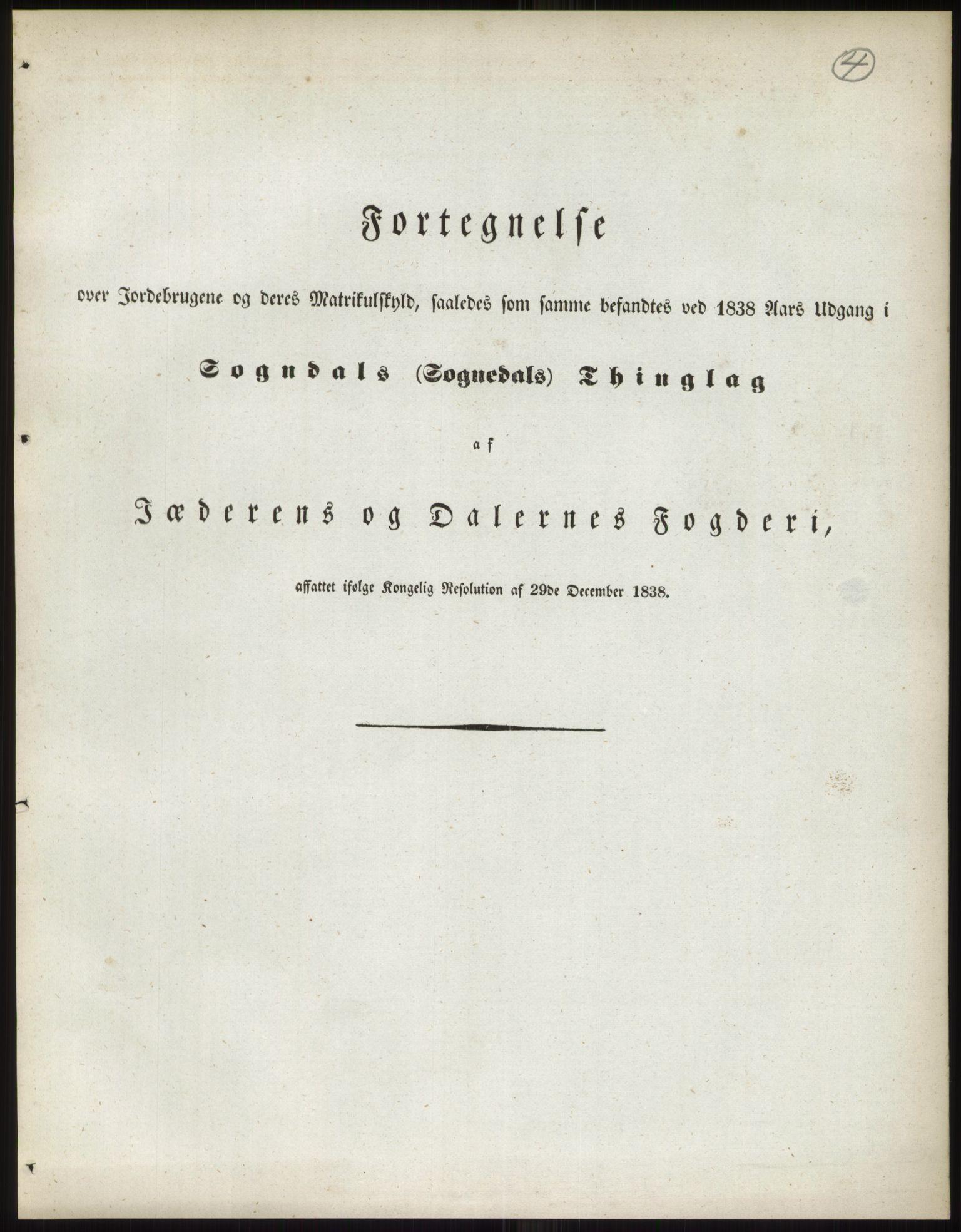 RA, 1838-matrikkelen (publikasjon)*, 1838, s. 4
