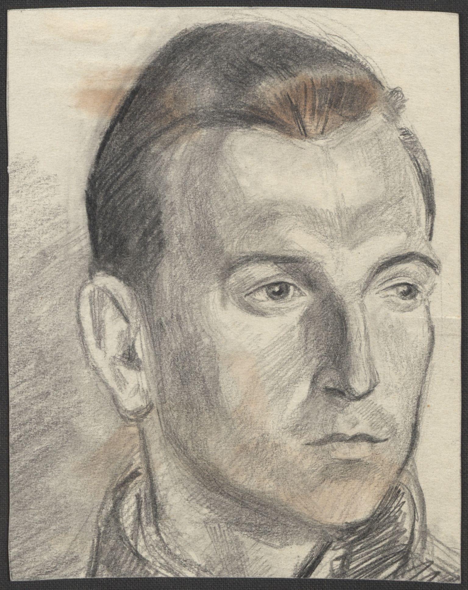 RA, Grøgaard, Joachim, F/L0002: Tegninger og tekster, 1942-1945, s. 47