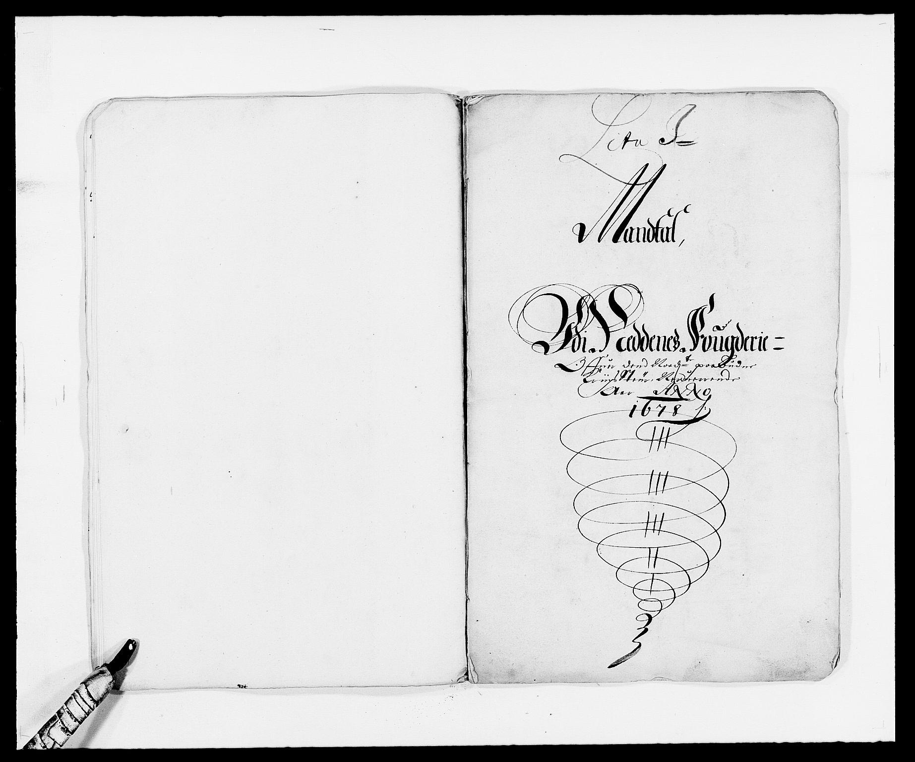 RA, Rentekammeret inntil 1814, Reviderte regnskaper, Fogderegnskap, R39/L2302: Fogderegnskap Nedenes, 1677-1678, s. 329