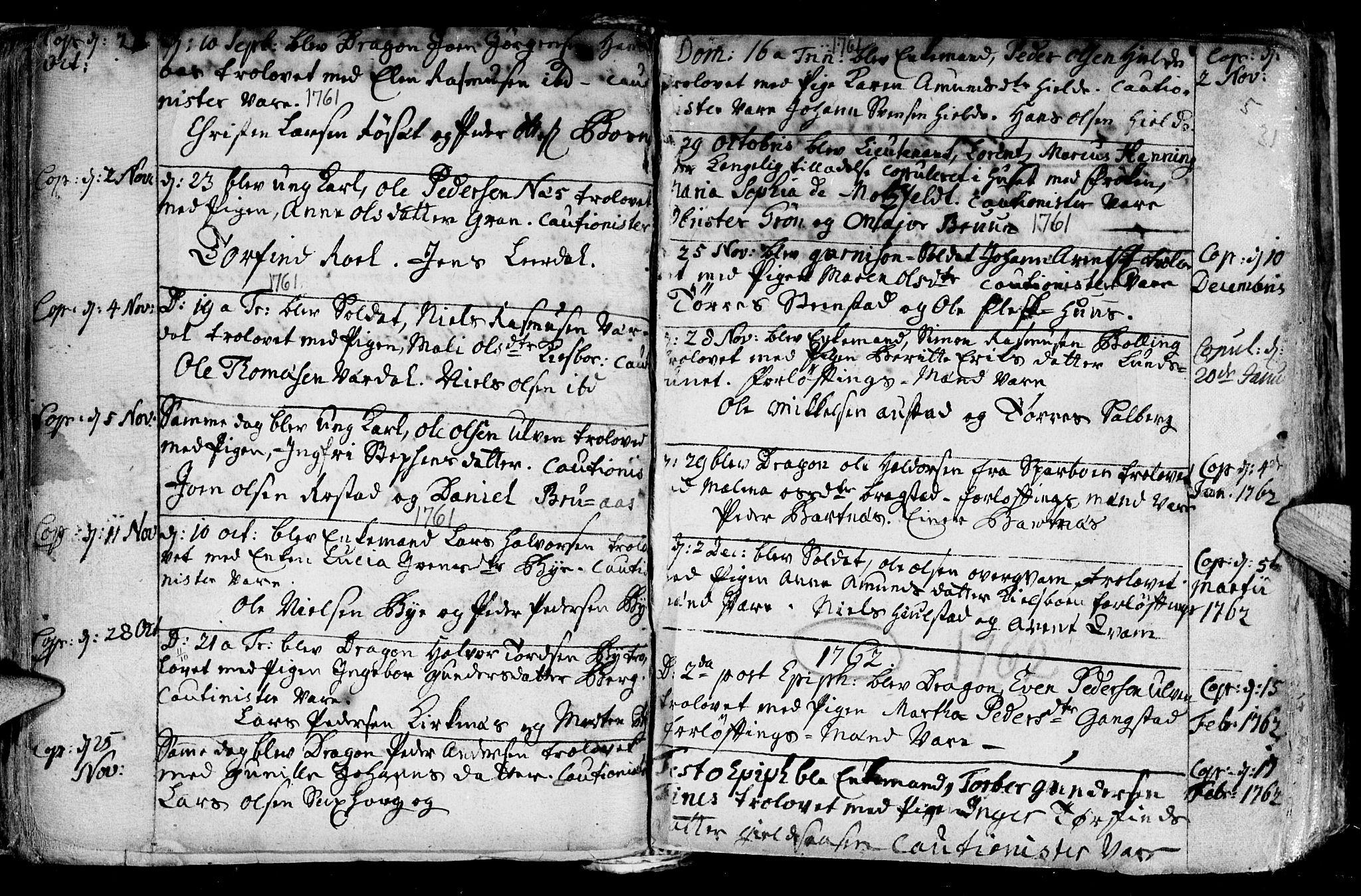 SAT, Ministerialprotokoller, klokkerbøker og fødselsregistre - Nord-Trøndelag, 730/L0272: Ministerialbok nr. 730A01, 1733-1764, s. 31