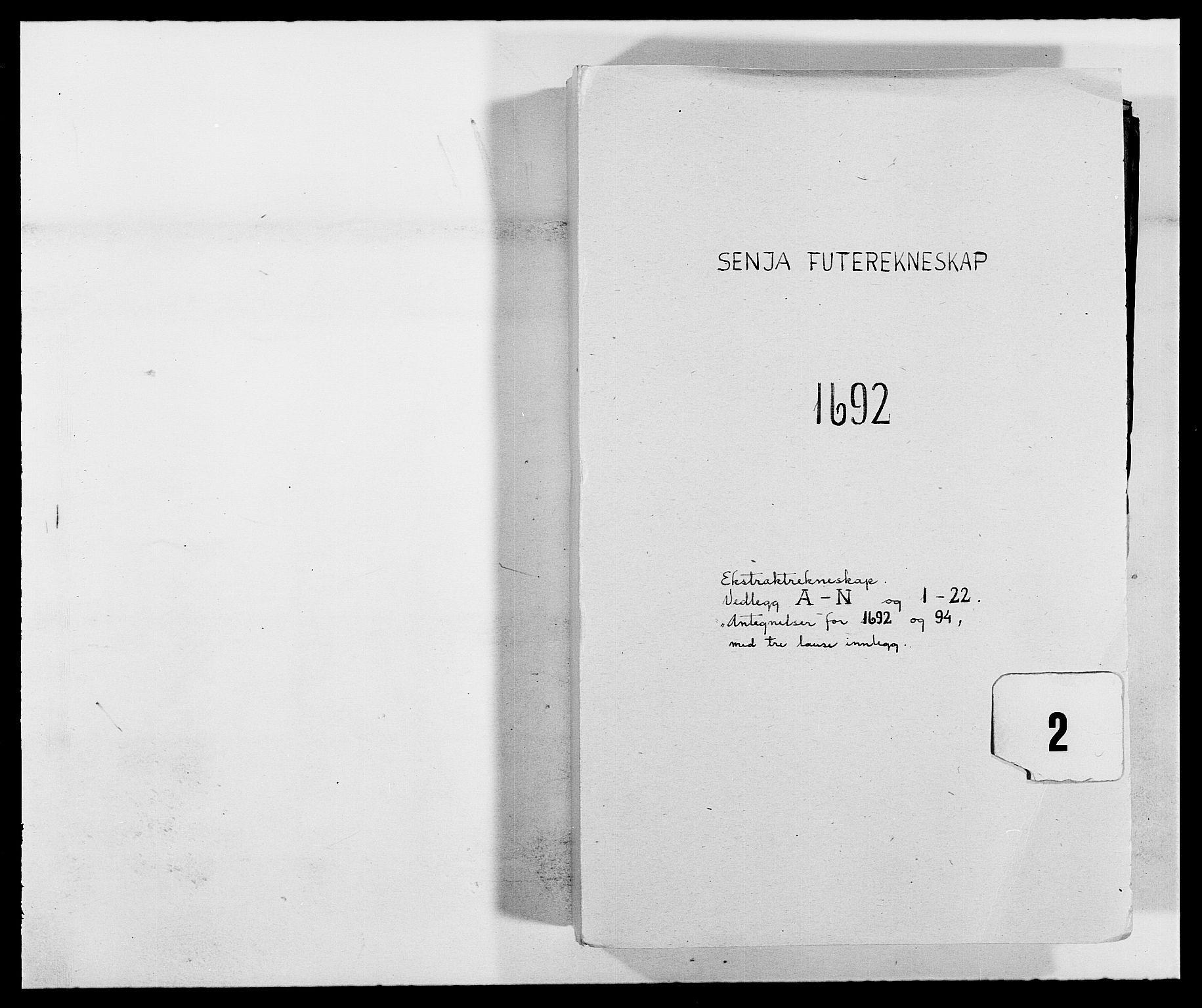 RA, Rentekammeret inntil 1814, Reviderte regnskaper, Fogderegnskap, R68/L4752: Fogderegnskap Senja og Troms, 1691-1693, s. 155