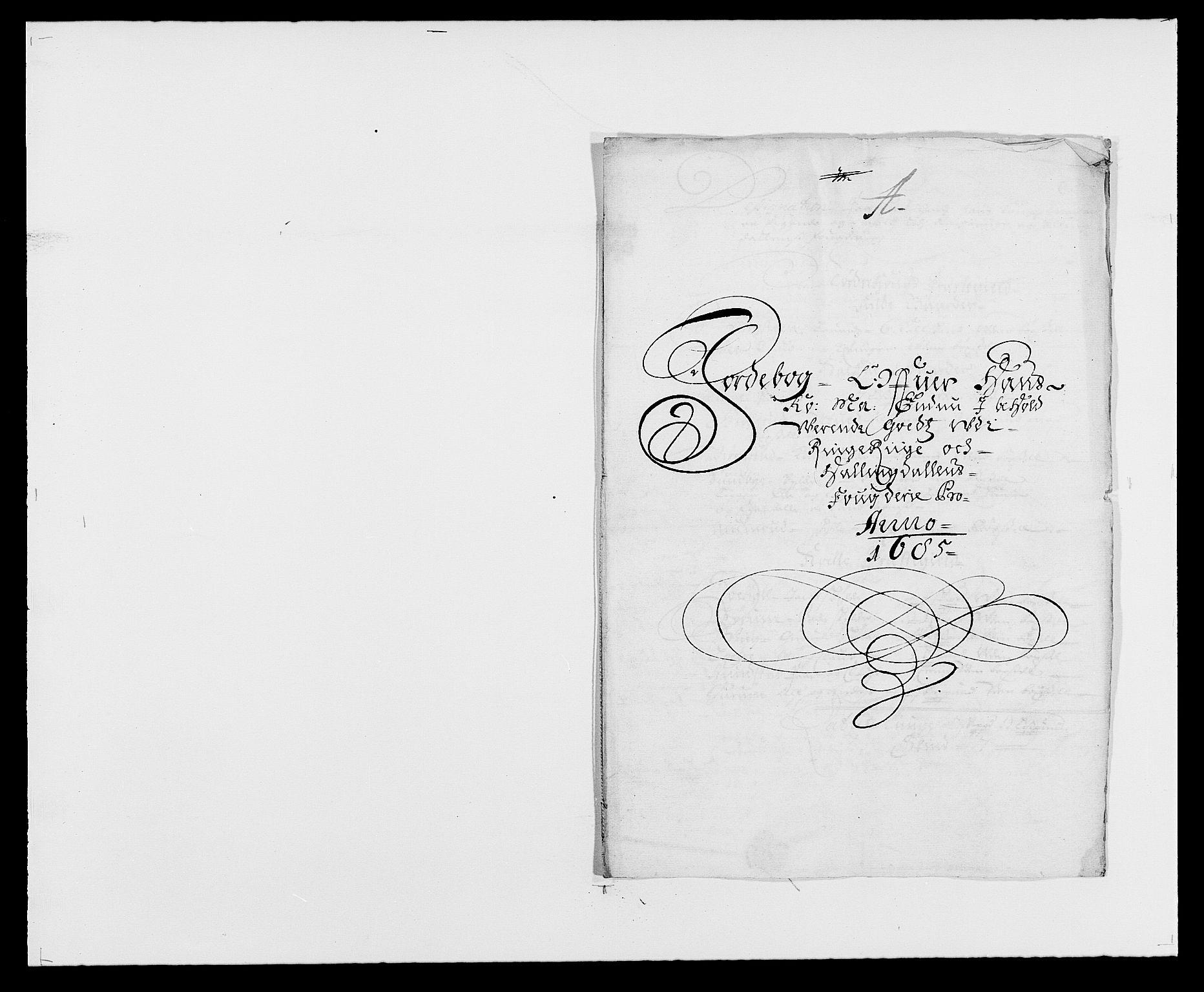 RA, Rentekammeret inntil 1814, Reviderte regnskaper, Fogderegnskap, R21/L1446: Fogderegnskap Ringerike og Hallingdal, 1683-1686, s. 291