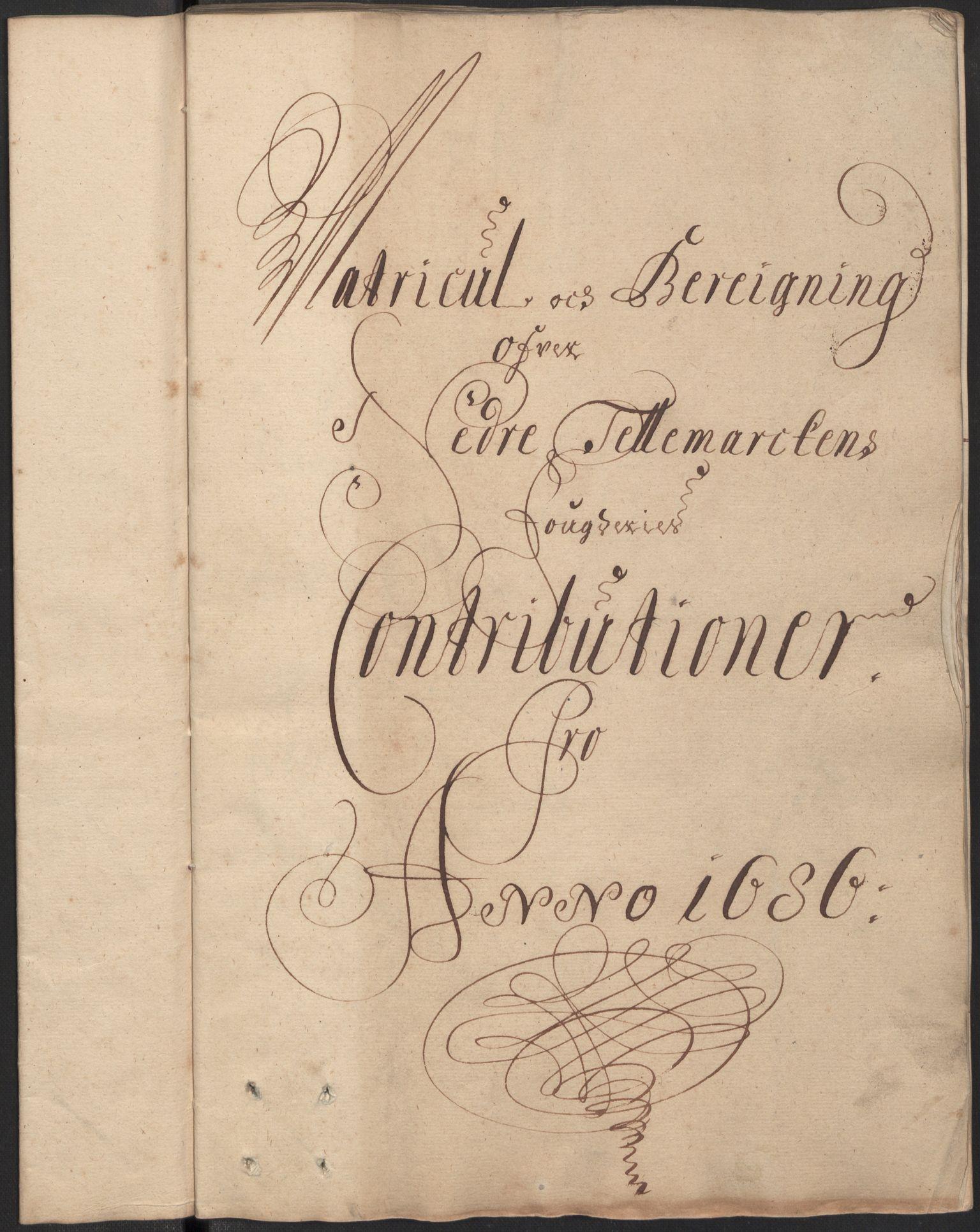 RA, Rentekammeret inntil 1814, Reviderte regnskaper, Fogderegnskap, R35/L2084: Fogderegnskap Øvre og Nedre Telemark, 1686, s. 154