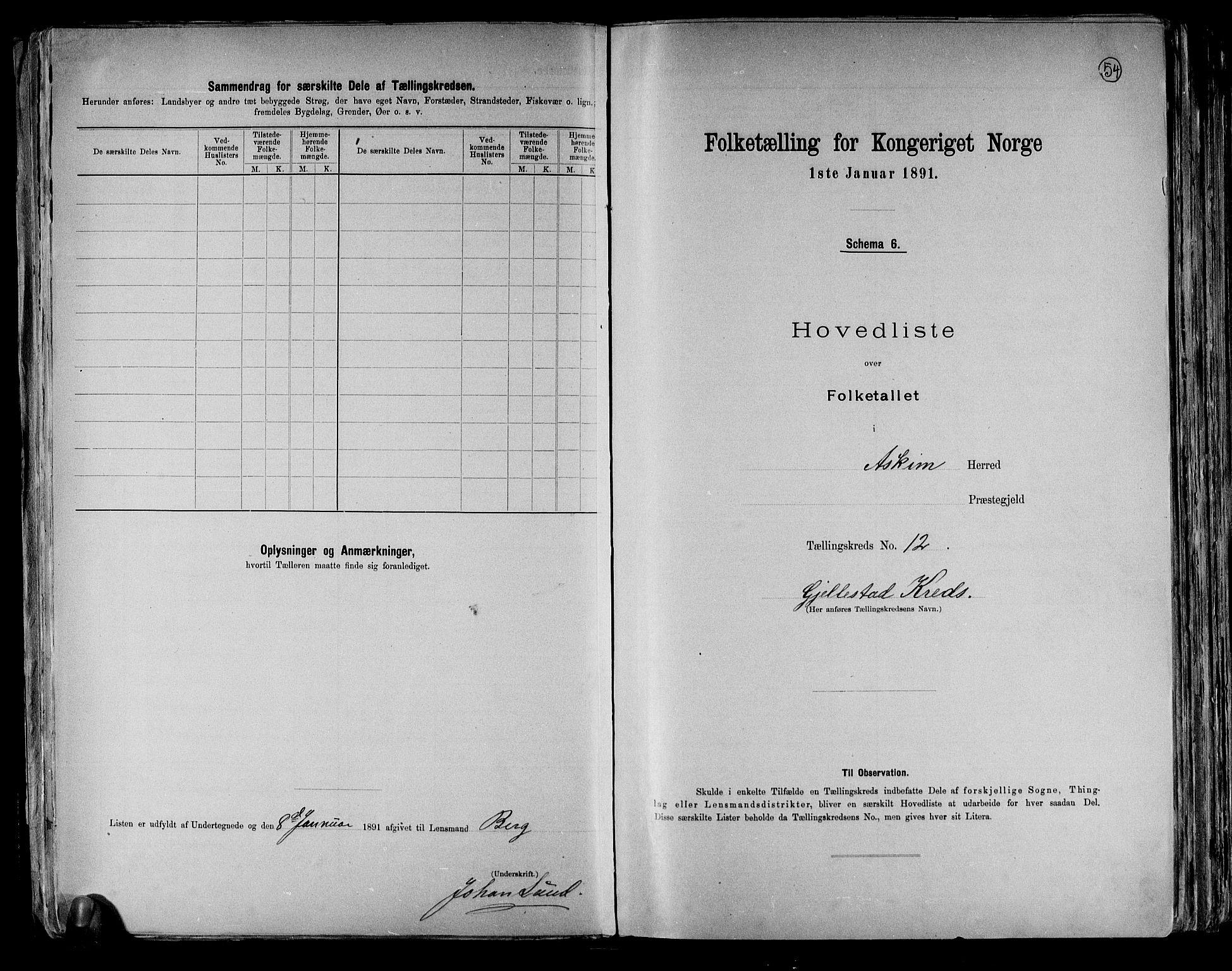 RA, Folketelling 1891 for 0124 Askim herred, 1891, s. 28