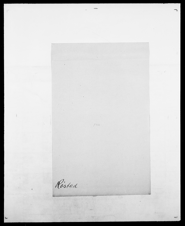 SAO, Delgobe, Charles Antoine - samling, D/Da/L0033: Roald - Røyem, s. 815