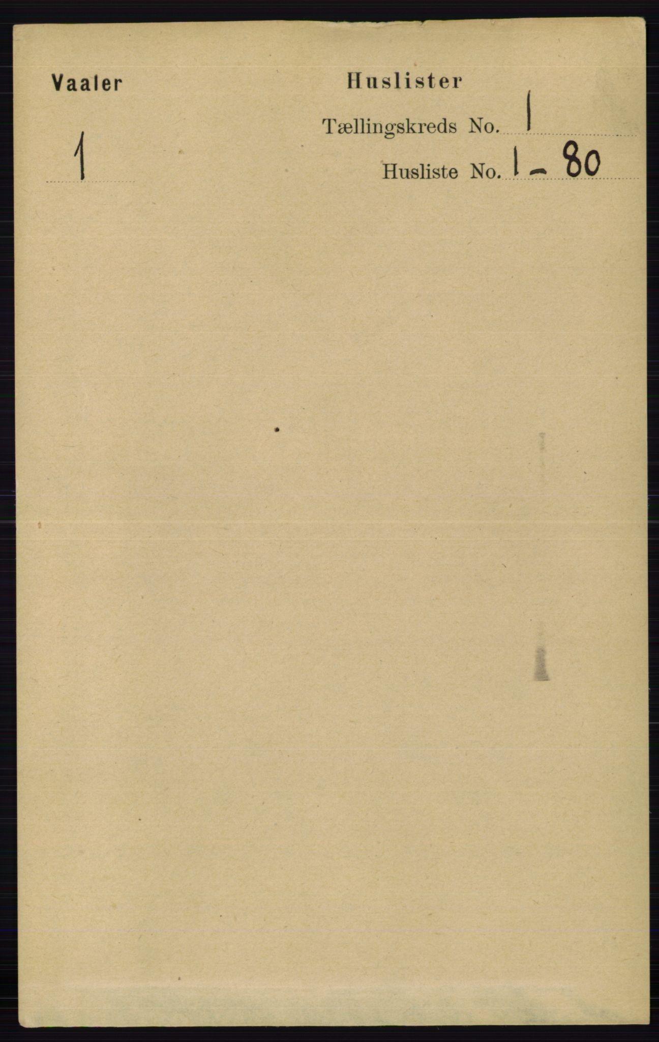 RA, Folketelling 1891 for 0137 Våler herred, 1891, s. 20