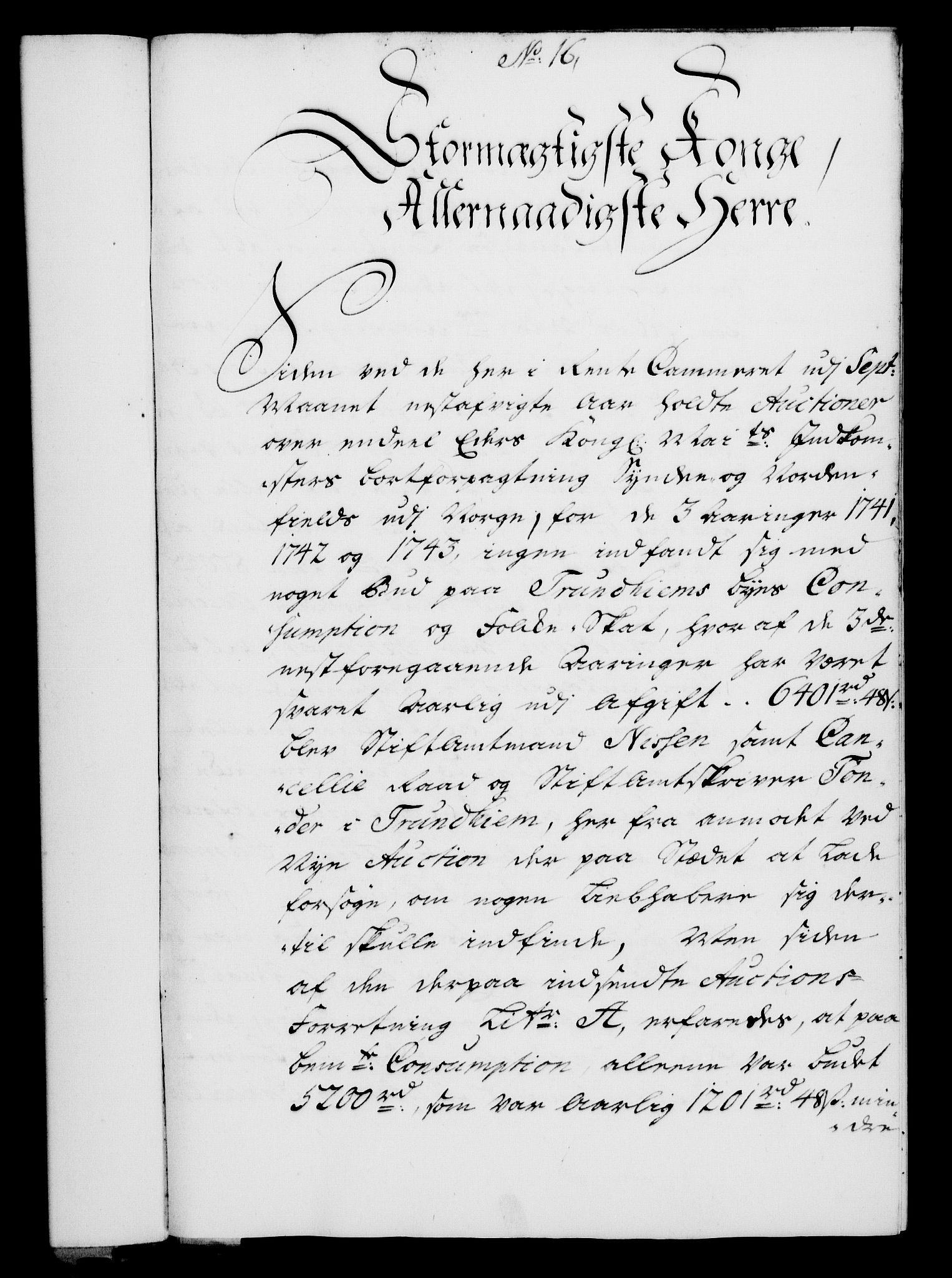 RA, Rentekammeret, Kammerkanselliet, G/Gf/Gfa/L0024: Norsk relasjons- og resolusjonsprotokoll (merket RK 52.24), 1741, s. 98