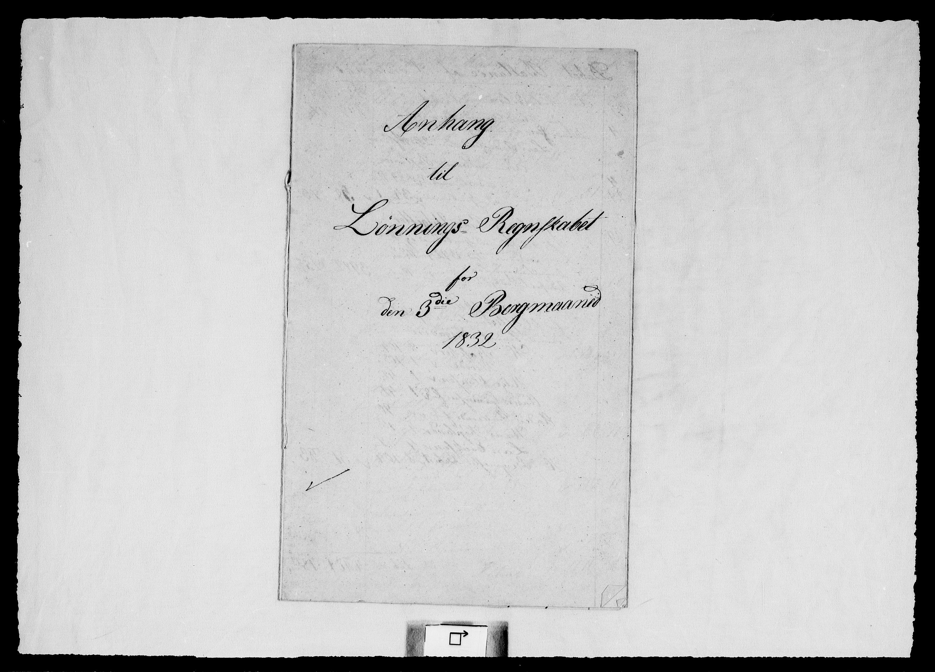 RA, Modums Blaafarveværk, G/Gd/Gdd/L0285, 1832-1839, s. 2