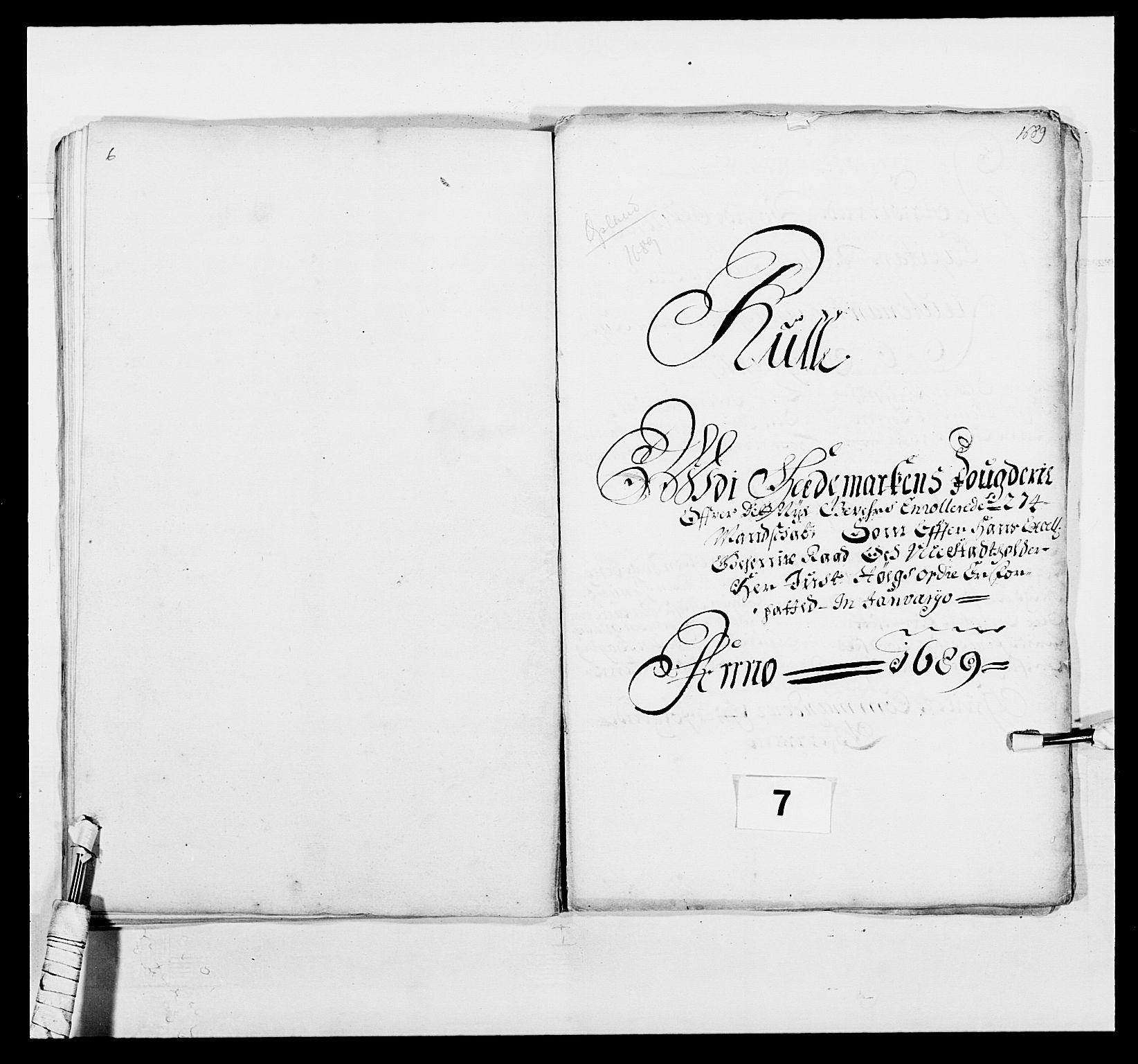 RA, Kommanderende general (KG I) med Det norske krigsdirektorium, E/Ea/L0498: Opplandske regiment, 1662-1689, s. 405