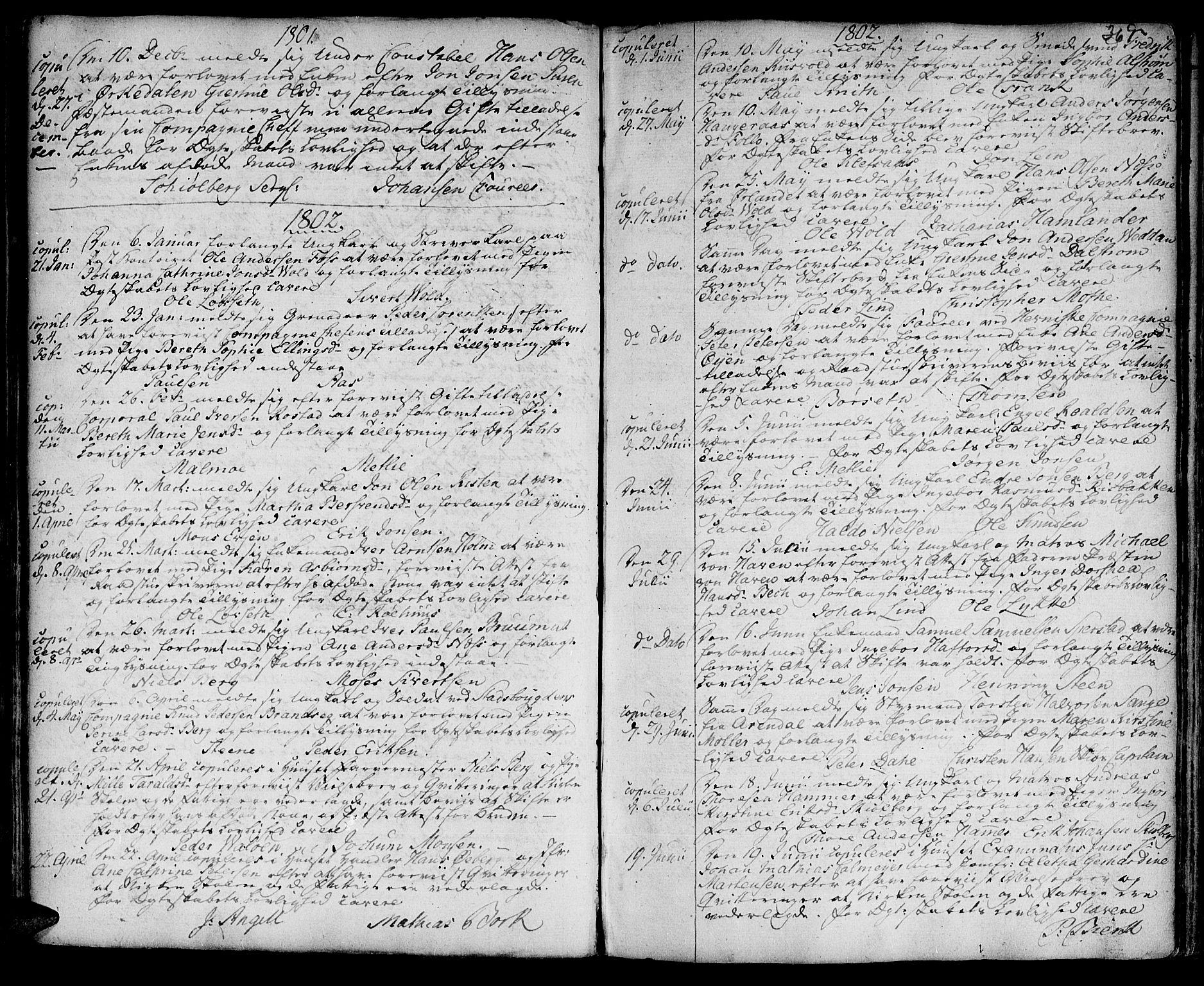 SAT, Ministerialprotokoller, klokkerbøker og fødselsregistre - Sør-Trøndelag, 601/L0038: Ministerialbok nr. 601A06, 1766-1877, s. 369