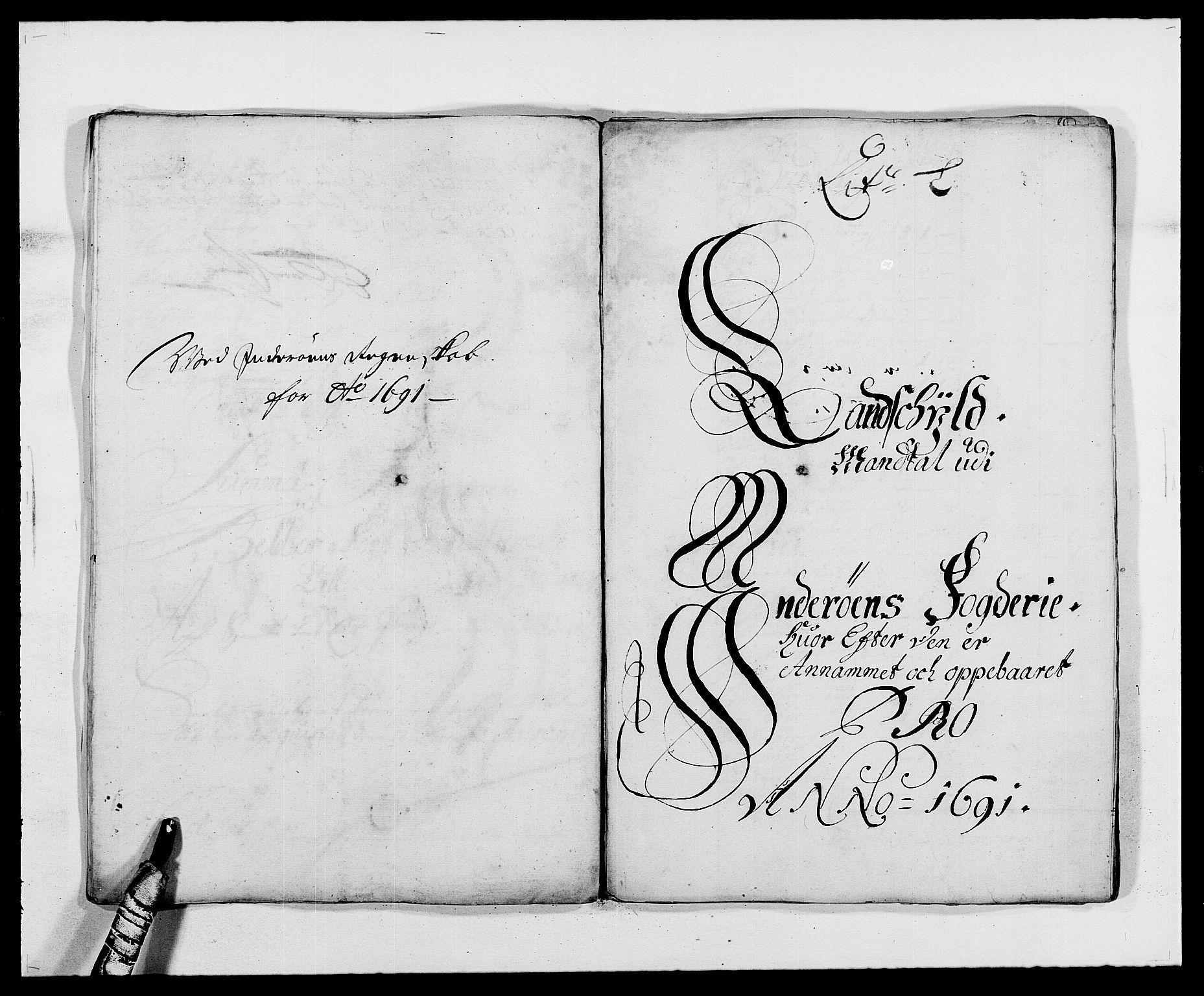RA, Rentekammeret inntil 1814, Reviderte regnskaper, Fogderegnskap, R63/L4307: Fogderegnskap Inderøy, 1690-1691, s. 370