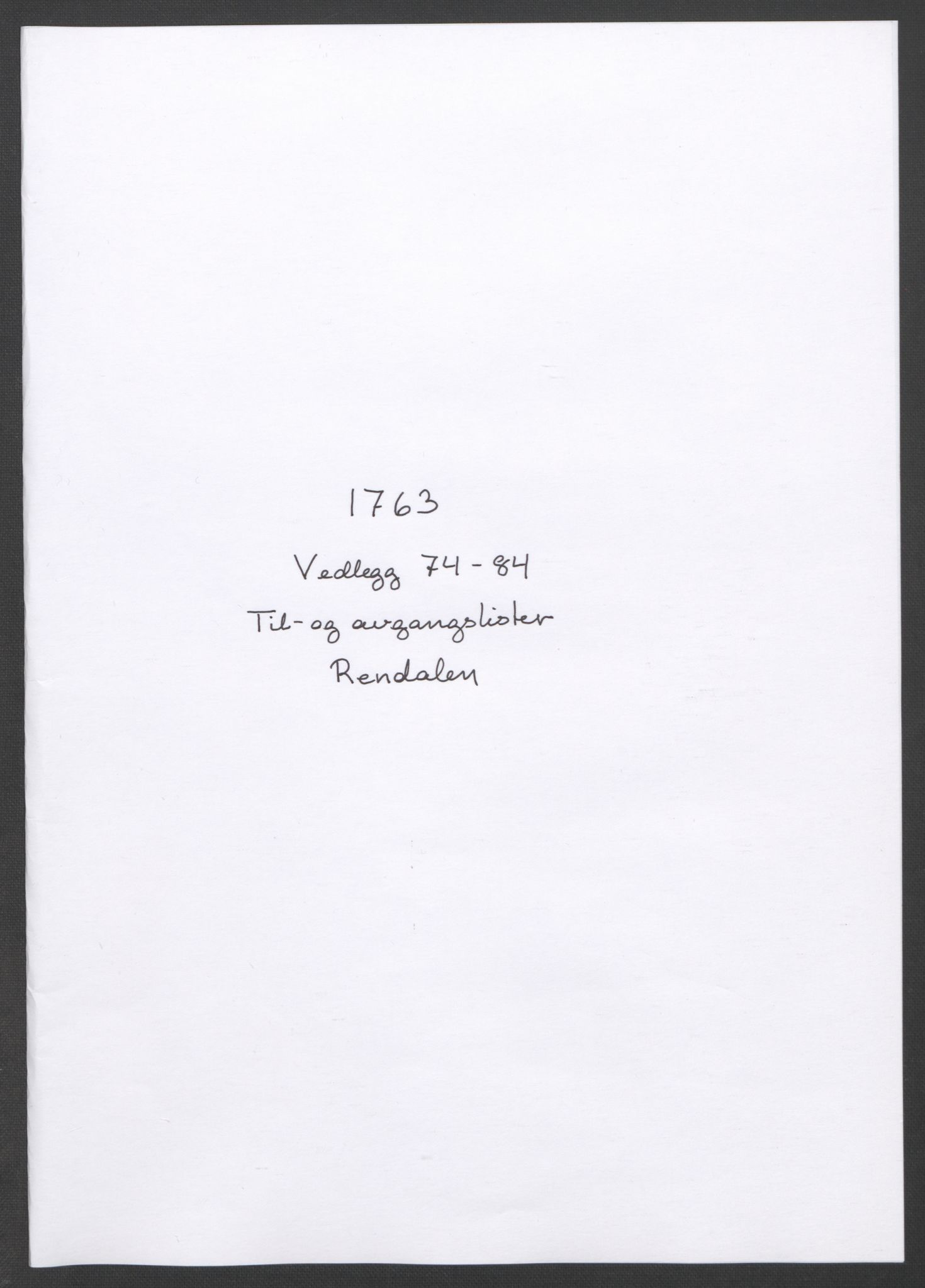 RA, Rentekammeret inntil 1814, Reviderte regnskaper, Fogderegnskap, R14/L0959: Ekstraskatten Solør og Odal, 1763-1770, s. 259